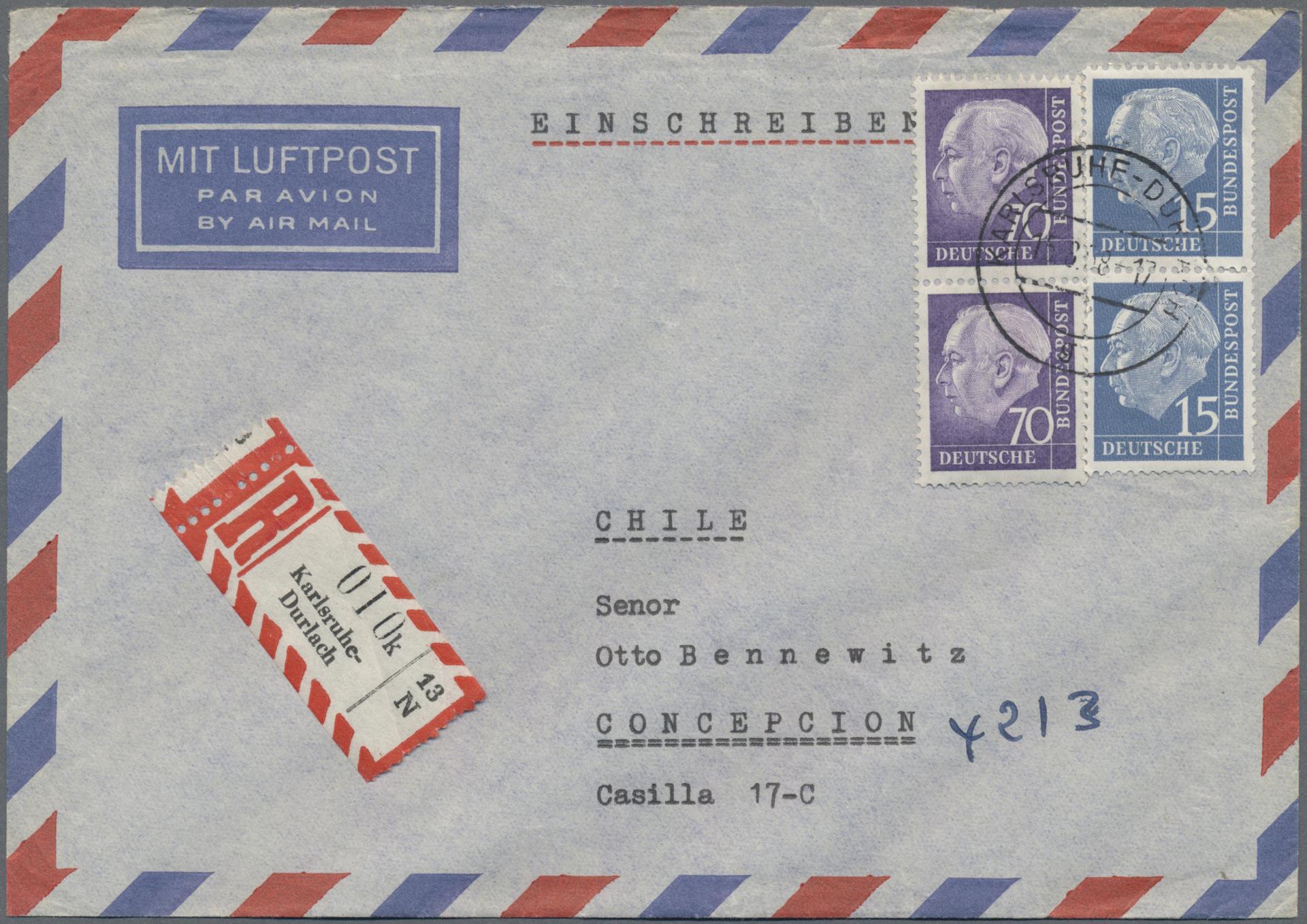 Lot 37550 - bundesrepublik deutschland  -  Auktionshaus Christoph Gärtner GmbH & Co. KG Sale #44 Collections Germany