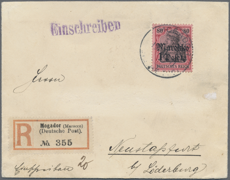 Lot 36913 - Deutsche Auslandspostämter + Kolonien  -  Auktionshaus Christoph Gärtner GmbH & Co. KG Sale #44 Collections Germany