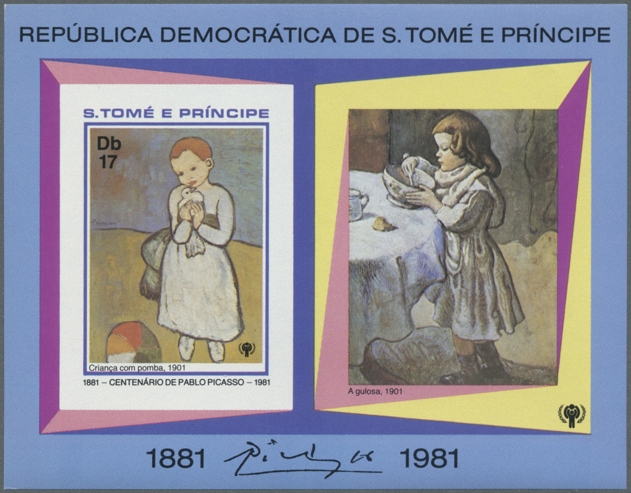 Stamp Auction - Thematik: Malerei, Maler / painting, painters ...