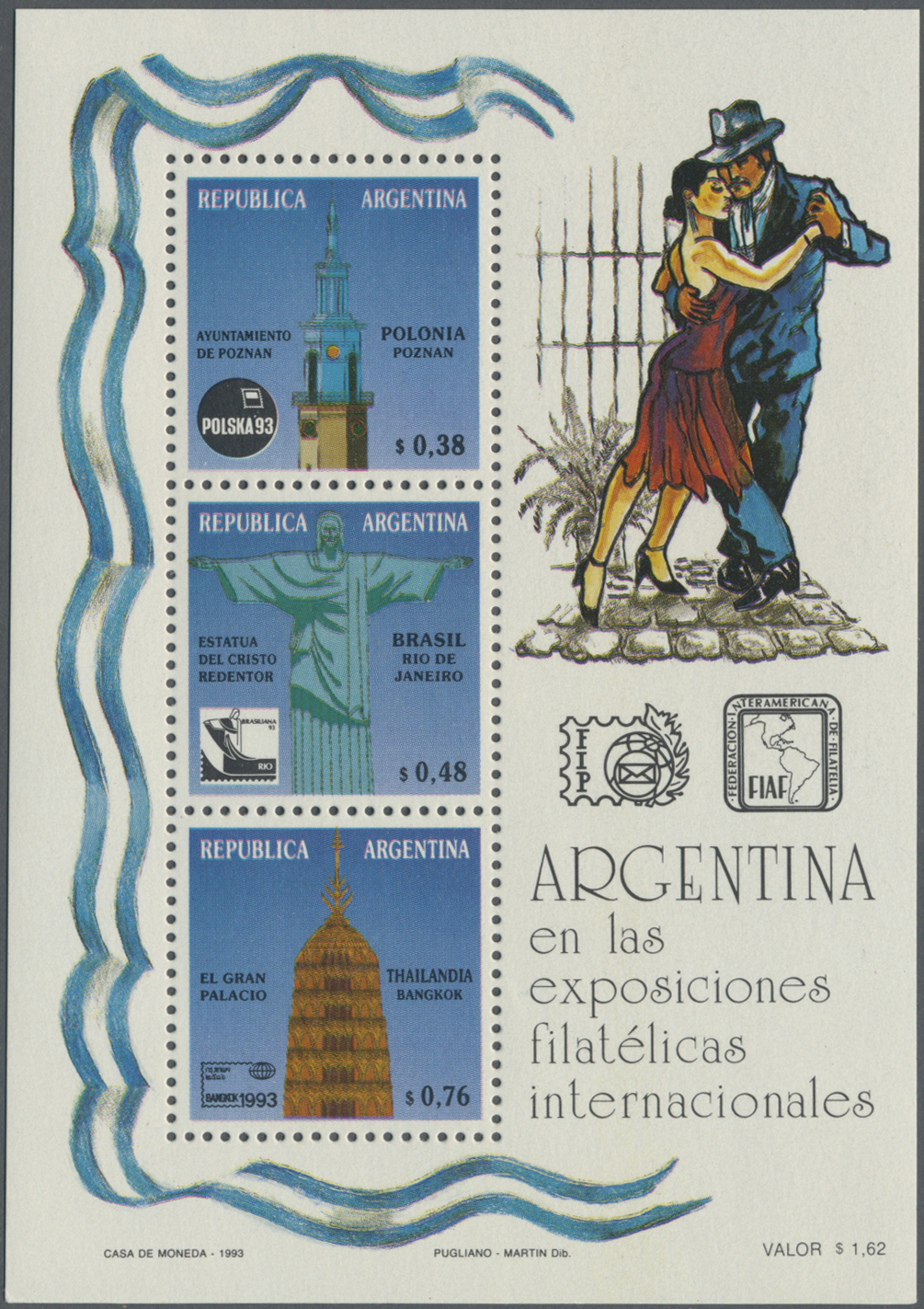 Lot 15903 - Thematik: Sehenswürdigkeiten / sights  -  Auktionshaus Christoph Gärtner GmbH & Co. KG Sale #48 collections Overseas  Airmail / Ship mail & Thematics