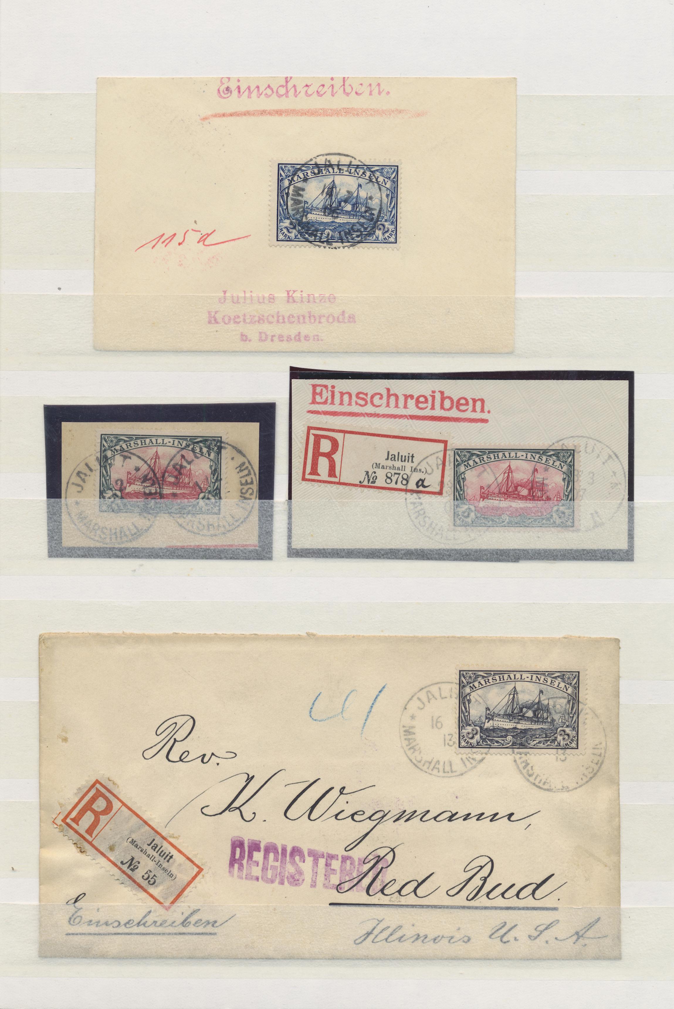 Lot 23602 - Deutsche Kolonien - Marshall-Inseln  -  Auktionshaus Christoph Gärtner GmbH & Co. KG 50th Auction Anniversary Auction - Day 7