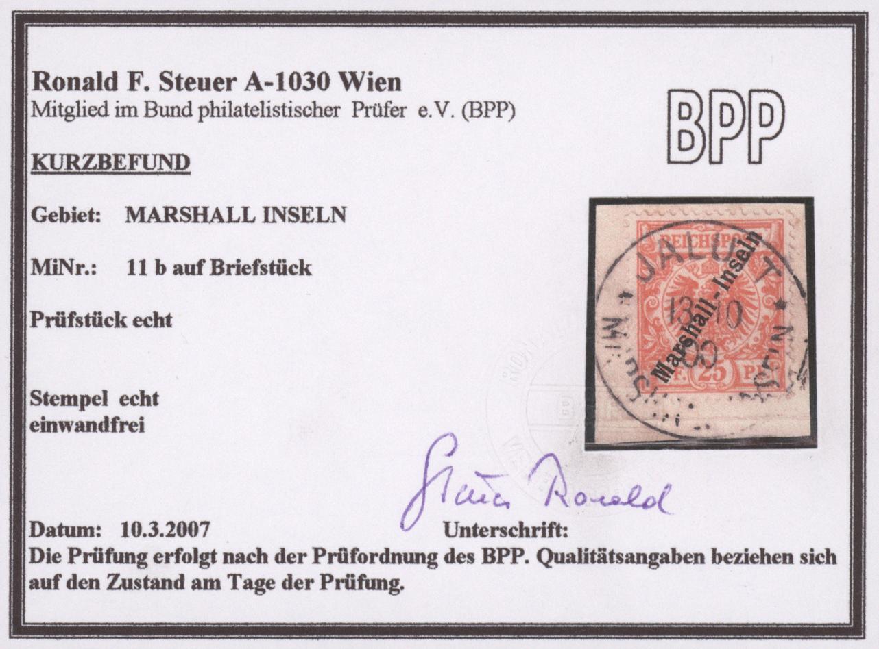 Lot 23601 - Deutsche Kolonien - Marshall-Inseln  -  Auktionshaus Christoph Gärtner GmbH & Co. KG 50th Auction Anniversary Auction - Day 7