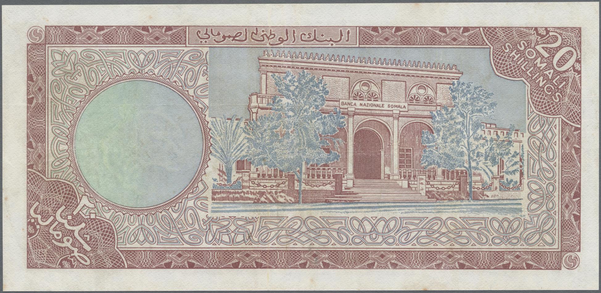 Lot 00838 - Somalia | Banknoten  -  Auktionshaus Christoph Gärtner GmbH & Co. KG Sale #48 The Banknotes