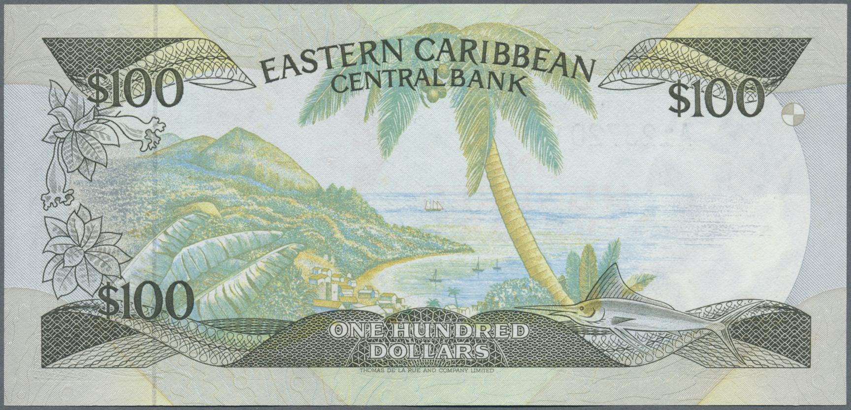 Lot 38 - Anguilla | Banknoten  -  Auktionshaus Christoph Gärtner GmbH & Co. KG Banknotes Worldwide Auction #39 Day 1