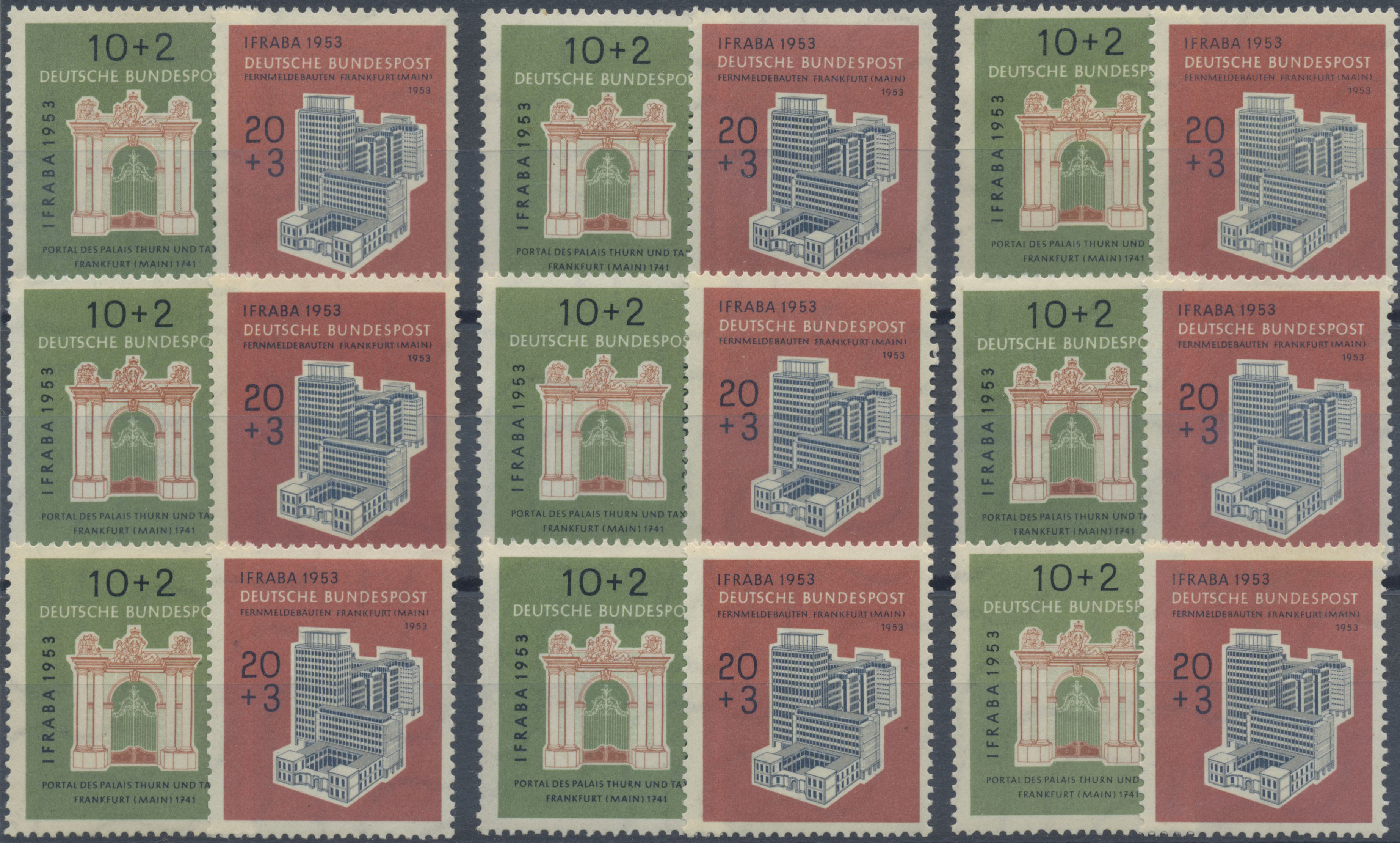 Lot 37591 - bundesrepublik deutschland  -  Auktionshaus Christoph Gärtner GmbH & Co. KG Sale #44 Collections Germany