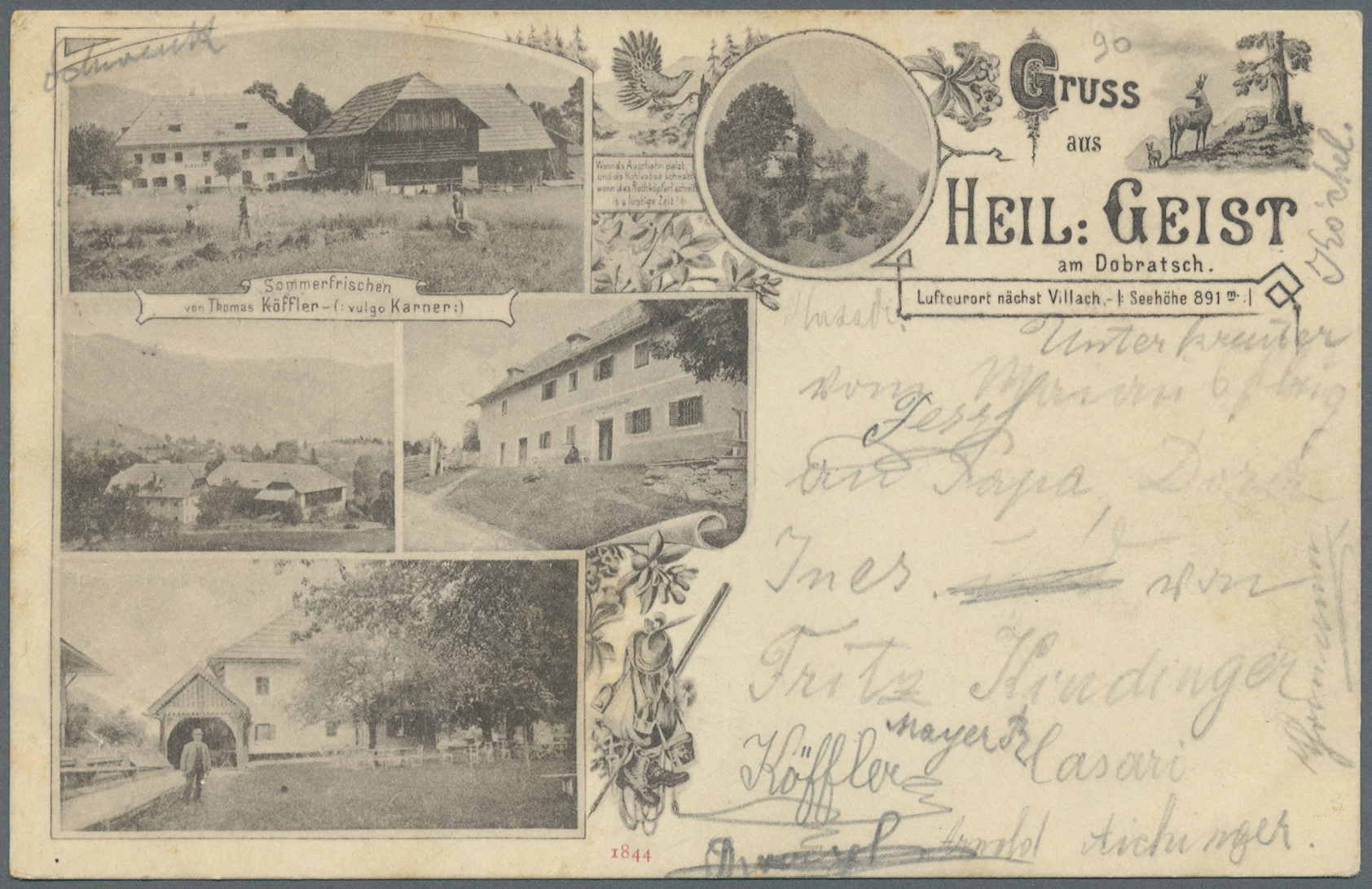 Lot 04131 - Ansichtskarten: Österreich  -  Auktionshaus Christoph Gärtner GmbH & Co. KG Sale #48 The Coins & The Picture Post Cards