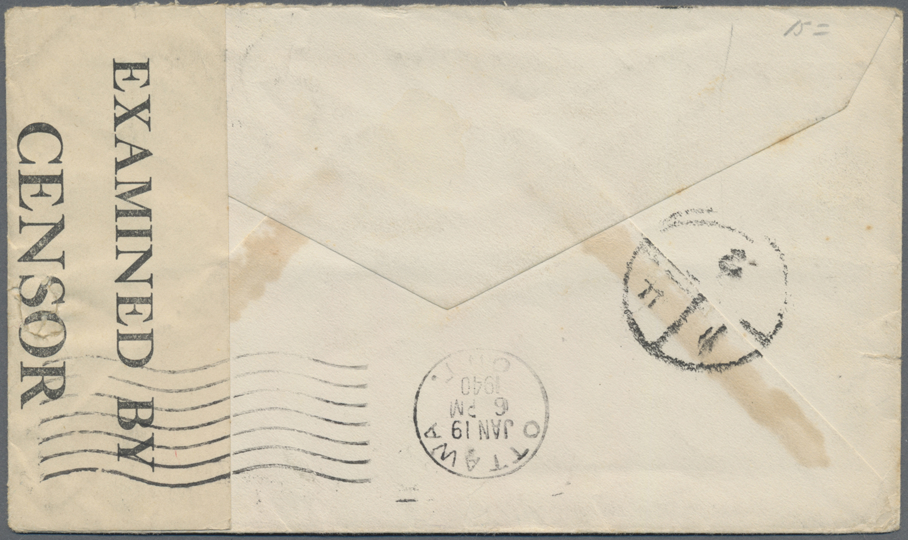 Lot 00022 - China - Incoming Mail  -  Auktionshaus Christoph Gärtner GmbH & Co. KG Special auction