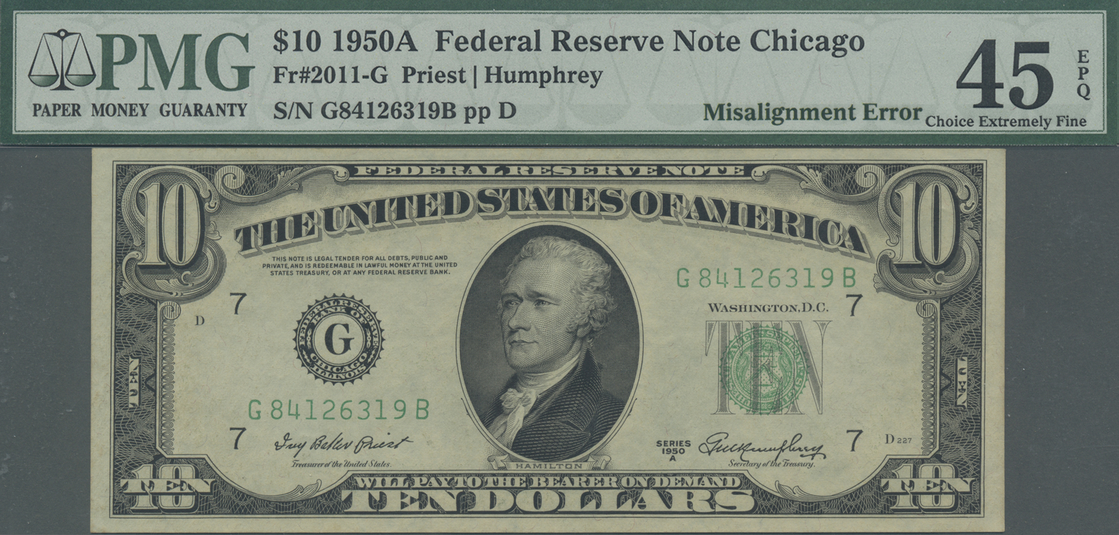 Lot 00908 - United States of America | Banknoten  -  Auktionshaus Christoph Gärtner GmbH & Co. KG Sale #48 The Banknotes