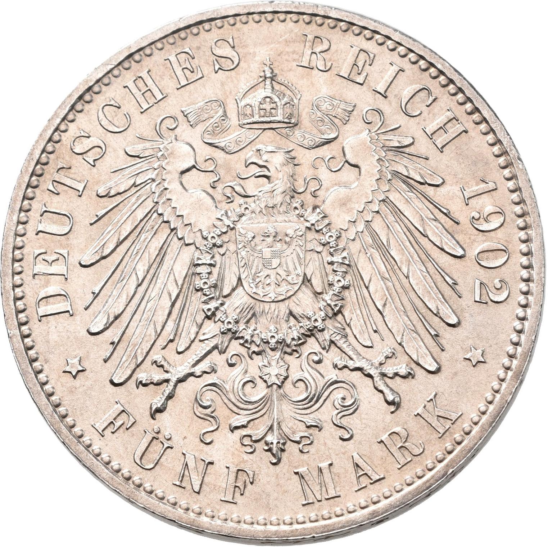 Lot 02240 - Sachsen | Umlaufmünzen 2 Mark bis 5 Mark - Deutsches Kaiserreich  -  Auktionshaus Christoph Gärtner GmbH & Co. KG Sale #48 The Coins & The Picture Post Cards