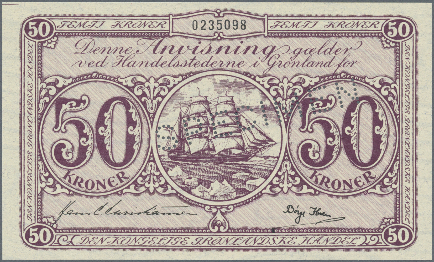 handel med grønland