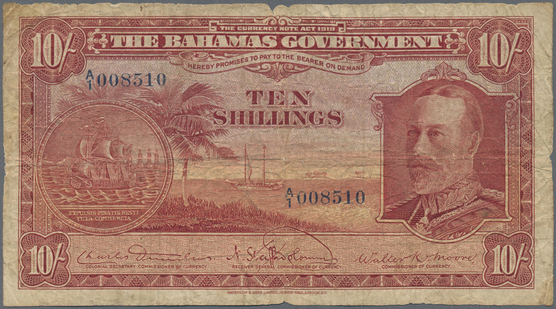 Lot 00055 - Bahamas | Banknoten  -  Auktionshaus Christoph Gärtner GmbH & Co. KG Sale #48 The Banknotes
