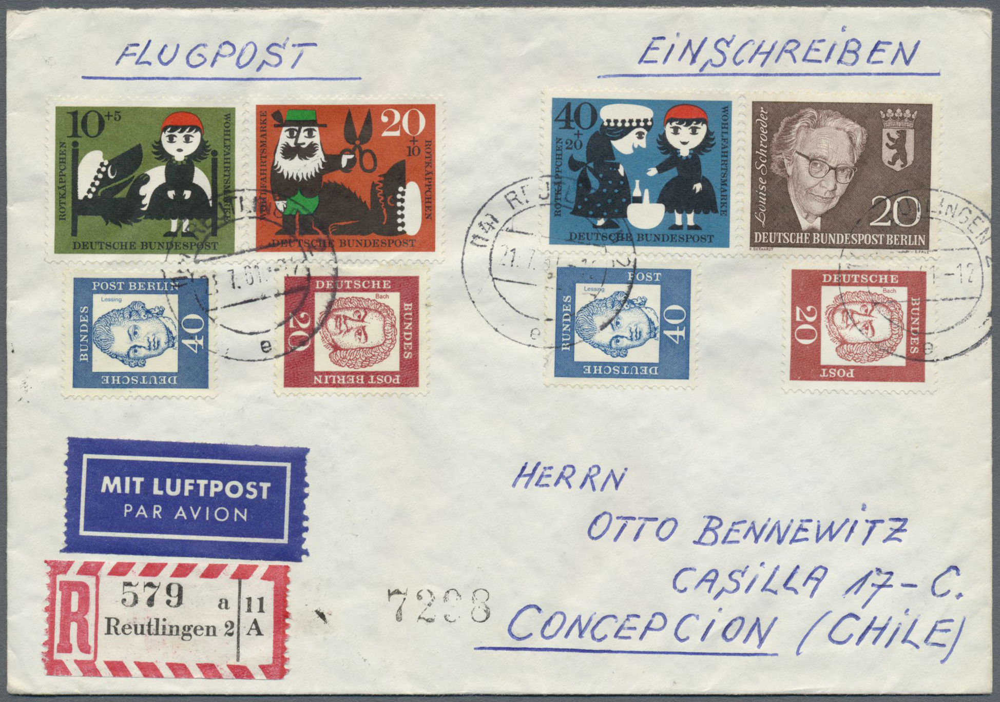 Lot 38343 - bundesrepublik deutschland  -  Auktionshaus Christoph Gärtner GmbH & Co. KG Collections Germany,  Collections Supplement, Surprise boxes #39 Day 7