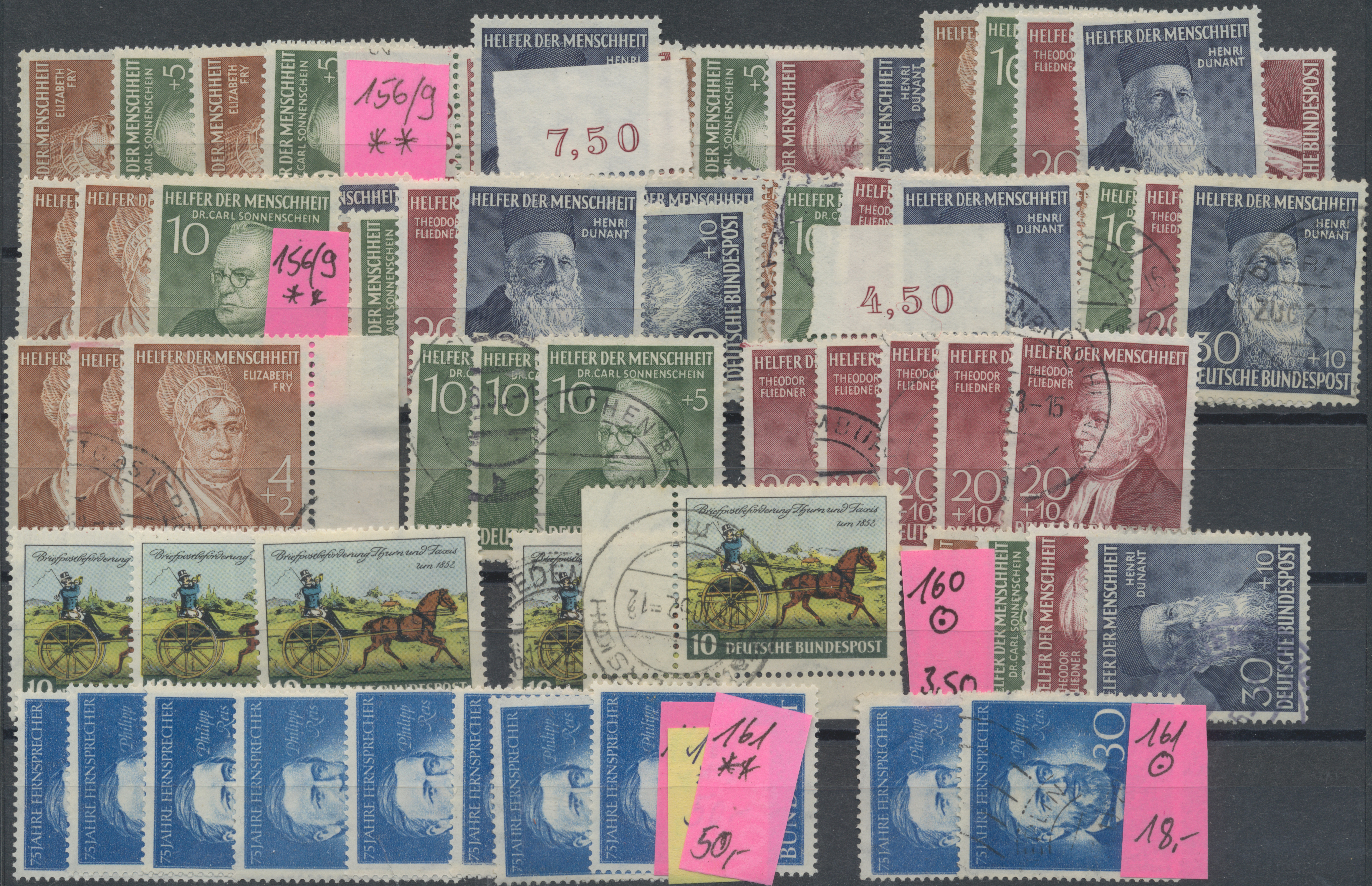 Lot 33510 - bundesrepublik deutschland  -  Auktionshaus Christoph Gärtner GmbH & Co. KG Sale #45- Collections Germany