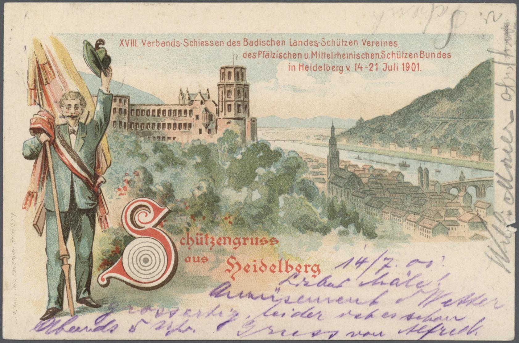 Lot 36840 - Deutsches Reich - Privatganzsachen  -  Auktionshaus Christoph Gärtner GmbH & Co. KG Sale #44 Collections Germany