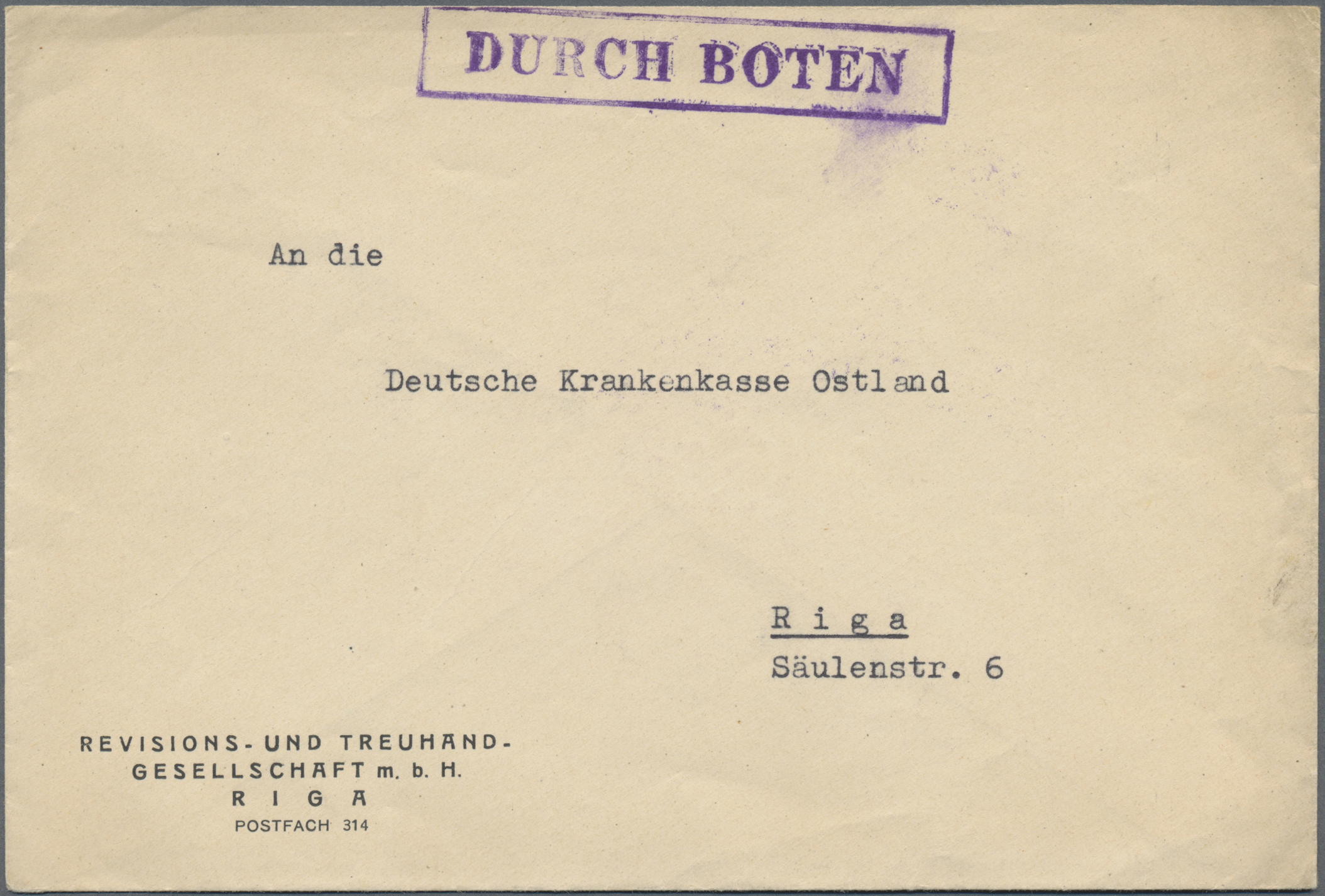 Lot 37131 - Dt. Besetzung II WK - Ostland  -  Auktionshaus Christoph Gärtner GmbH & Co. KG Sale #44 Collections Germany