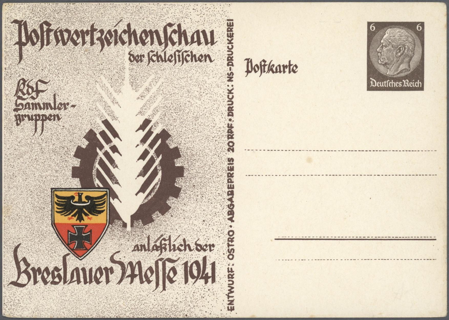 Lot 36844 - Deutsches Reich - Privatganzsachen  -  Auktionshaus Christoph Gärtner GmbH & Co. KG Sale #44 Collections Germany