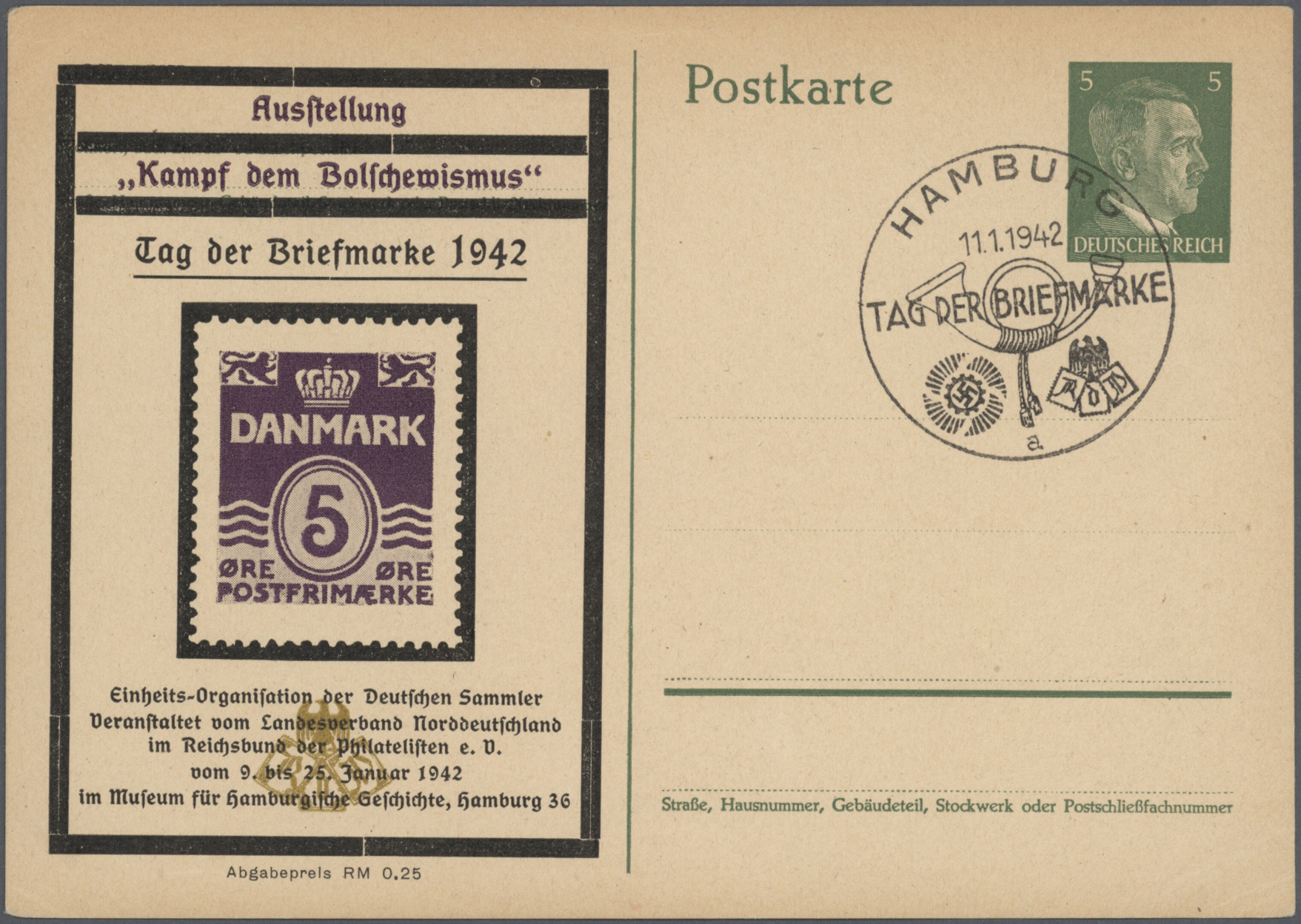 Lot 37142 - Deutsches Reich - Privatganzsachen  -  Auktionshaus Christoph Gärtner GmbH & Co. KG Collections Germany,  Collections Supplement, Surprise boxes #39 Day 7
