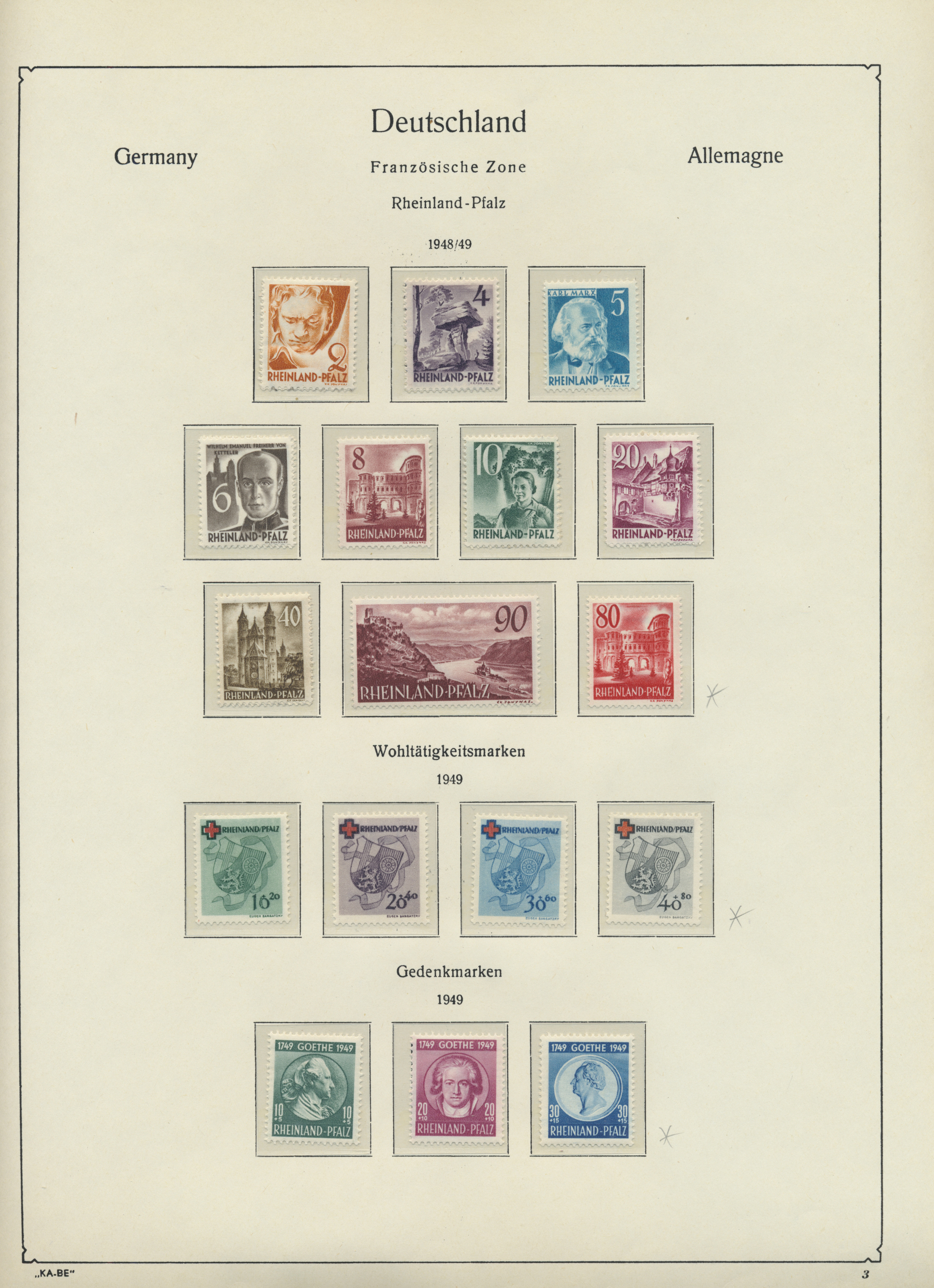 Lot 34046 - nachlässe  -  Auktionshaus Christoph Gärtner GmbH & Co. KG Collections Germany,  Collections Supplement, Surprise boxes #39 Day 7