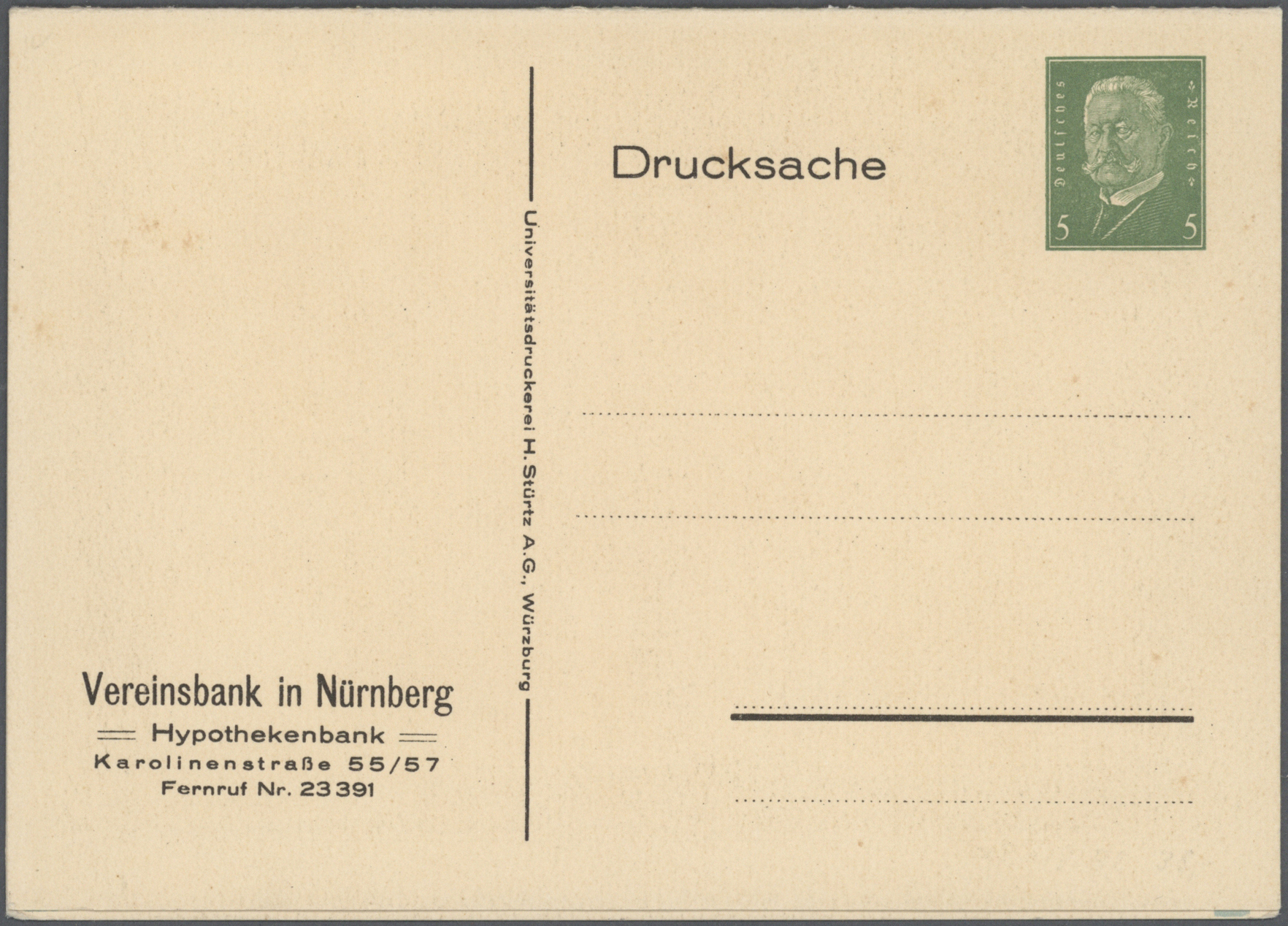 Lot 37118 - Deutsches Reich - Ganzsachen  -  Auktionshaus Christoph Gärtner GmbH & Co. KG Collections Germany,  Collections Supplement, Surprise boxes #39 Day 7