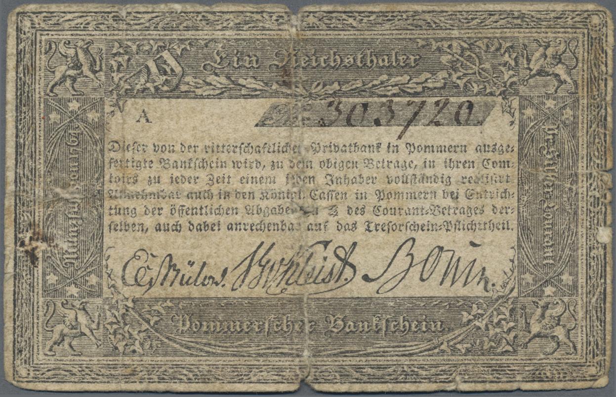 Lot 03305 - Deutschland - Altdeutsche Staaten | Banknoten  -  Auktionshaus Christoph Gärtner GmbH & Co. KG Sale #45 Banknotes Germany/Numismatics