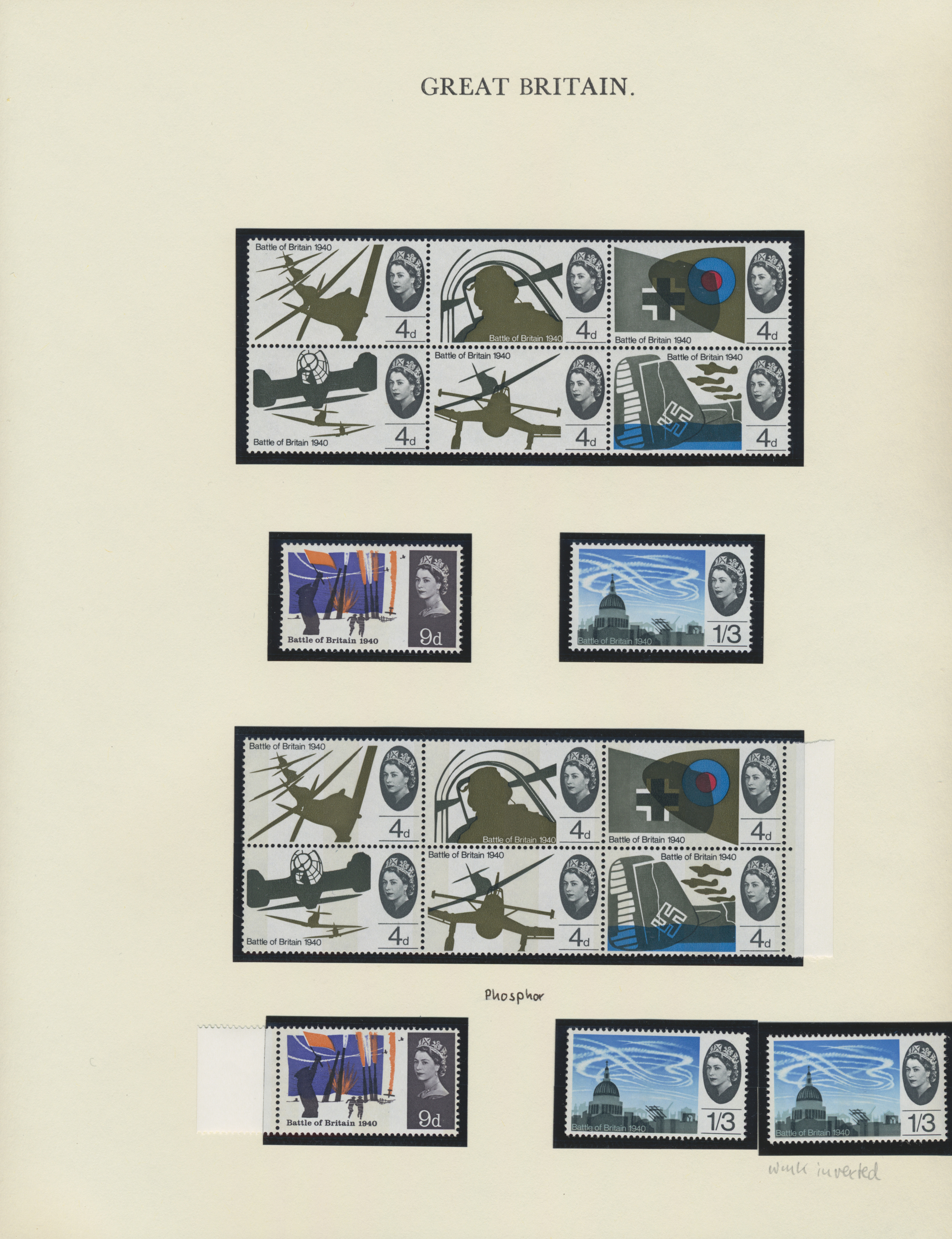 Lot 17096 - großbritannien  -  Auktionshaus Christoph Gärtner GmbH & Co. KG Sale #48 collections Overseas  Airmail / Ship mail & Thematics