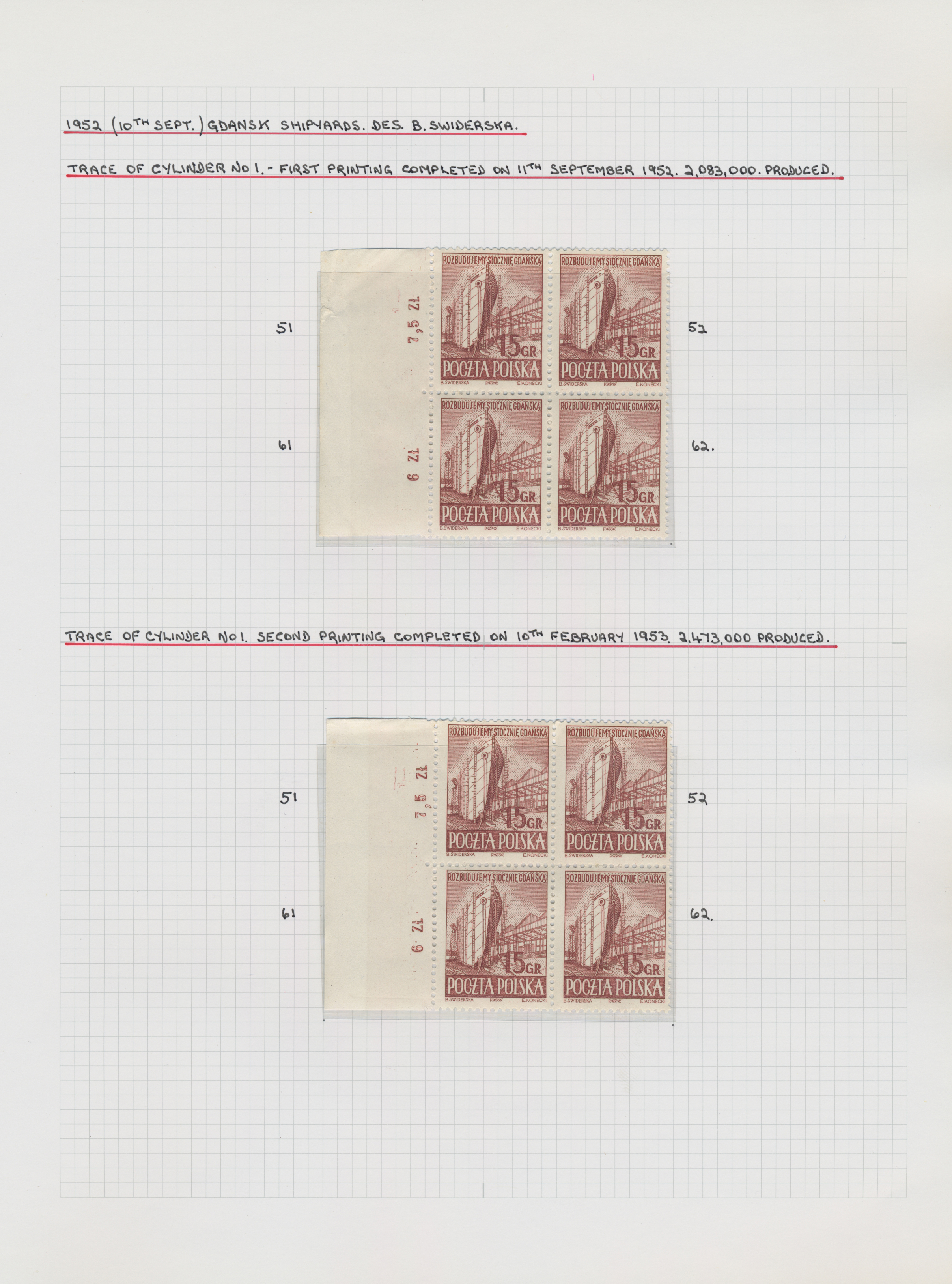 Lot 18421 - polen  -  Auktionshaus Christoph Gärtner GmbH & Co. KG Sale #48 collections Overseas  Airmail / Ship mail & Thematics