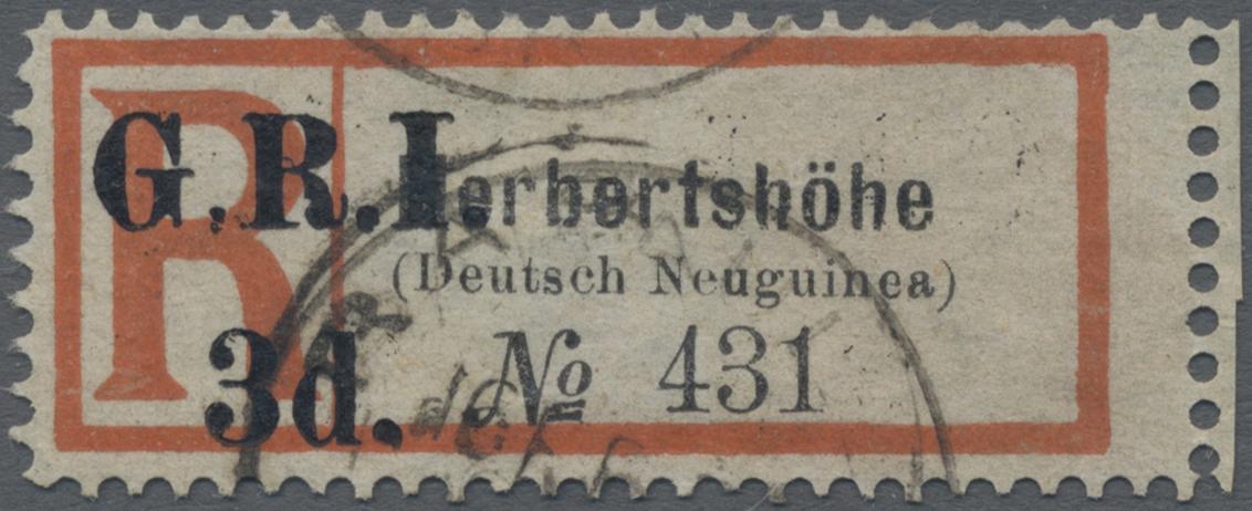Lot 06356 - Deutsch-Neuguinea - Britische Besetzung  -  Auktionshaus Christoph Gärtner GmbH & Co. KG 51th Auction - Day 3