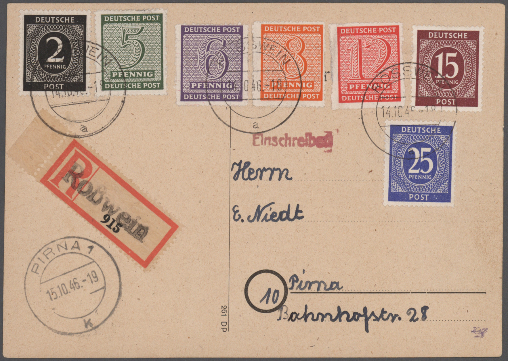 Lot 26350 - sowjetische zone  -  Auktionshaus Christoph Gärtner GmbH & Co. KG 50th Auction Anniversary Auction - Day 6