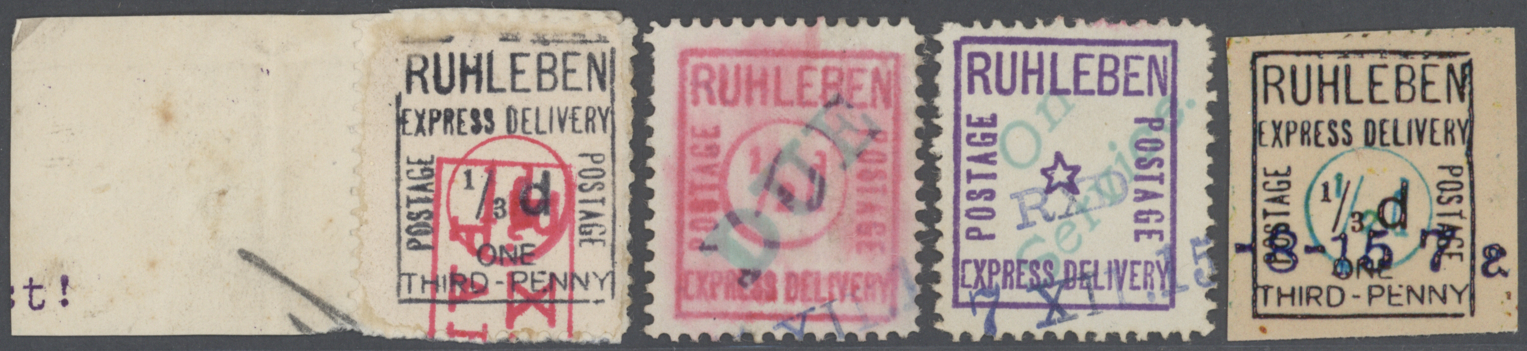 Lot 37645 - lagerpost: ruhleben  -  Auktionshaus Christoph Gärtner GmbH & Co. KG Collections Germany,  Collections Supplement, Surprise boxes #39 Day 7