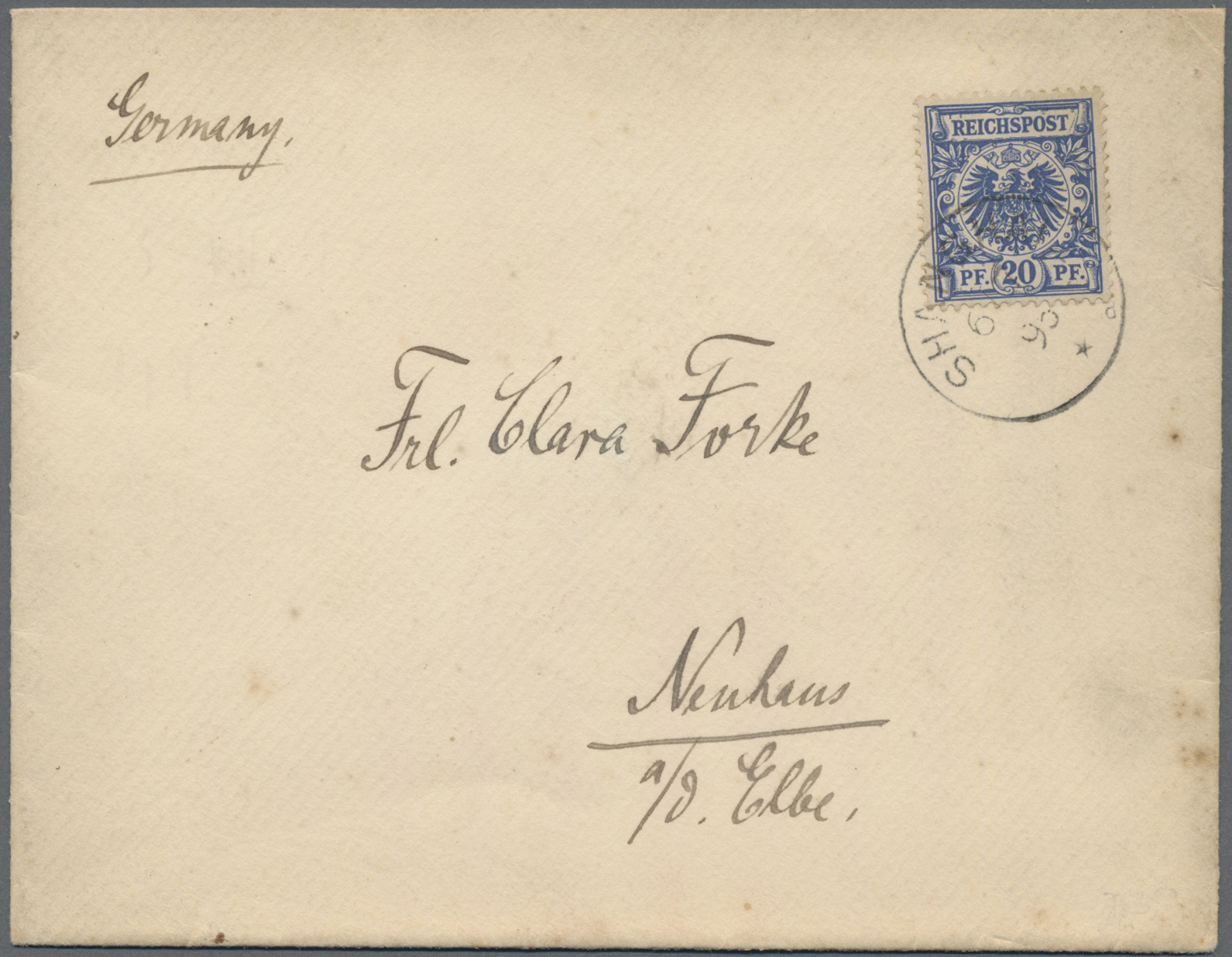 Lot 10306 - China - Fremde Postanstalten / Foreign Offices  -  Auktionshaus Christoph Gärtner GmbH & Co. KG Sale #47 Single lots: Asia, Thematics, Overseas, Europe