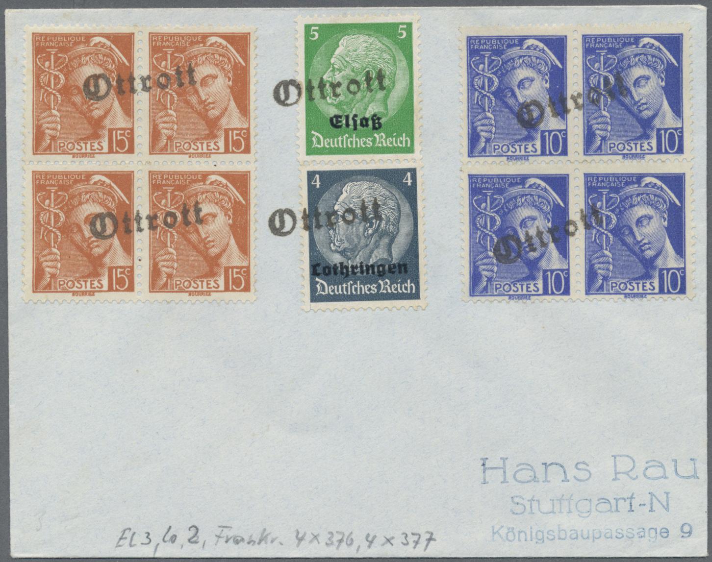 Lot 37082 - deutsche besetzung ii. wk  -  Auktionshaus Christoph Gärtner GmbH & Co. KG Sale #44 Collections Germany