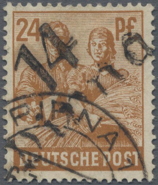 Lot 24227X - Sowjetische Zone - Bezirkshandstempel - II - Bez. 14 (Dresden)  -  Auktionshaus Christoph Gärtner GmbH & Co. KG Sale #44 Germany, Picture Post cards