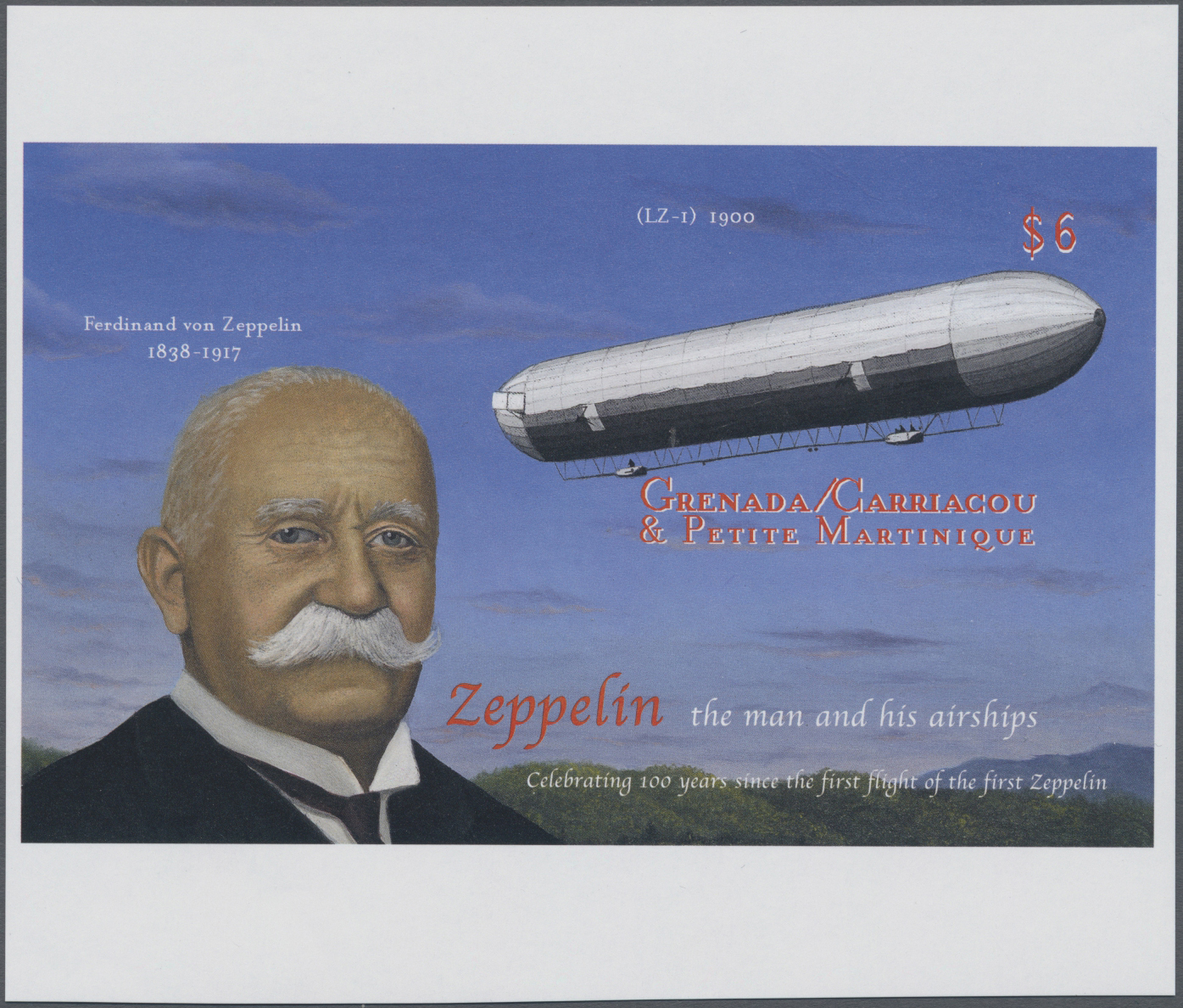 Lot 09054 - thematik: zeppelin / zeppelin  -  Auktionshaus Christoph Gärtner GmbH & Co. KG Sale #46 Single lots Asia, Thematics, Overseas, Europe …