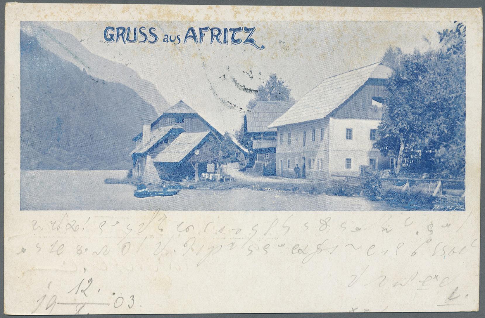 Lot 04133 - Ansichtskarten: Österreich  -  Auktionshaus Christoph Gärtner GmbH & Co. KG Sale #48 The Coins & The Picture Post Cards