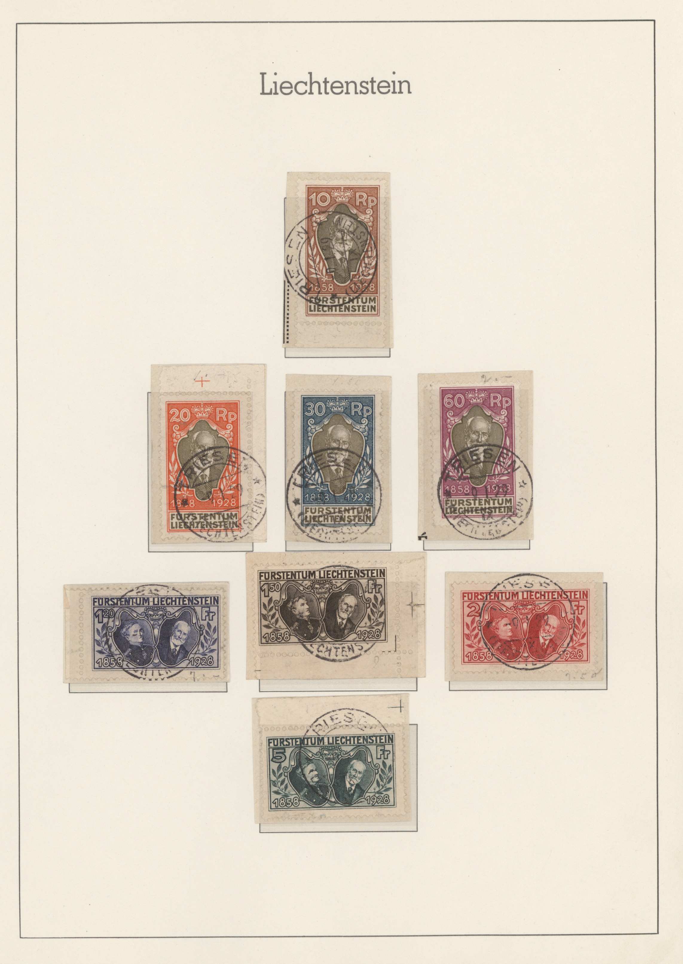 Lot 24473 - Liechtenstein  -  Auktionshaus Christoph Gärtner GmbH & Co. KG Sale #46 Collections Worldwide