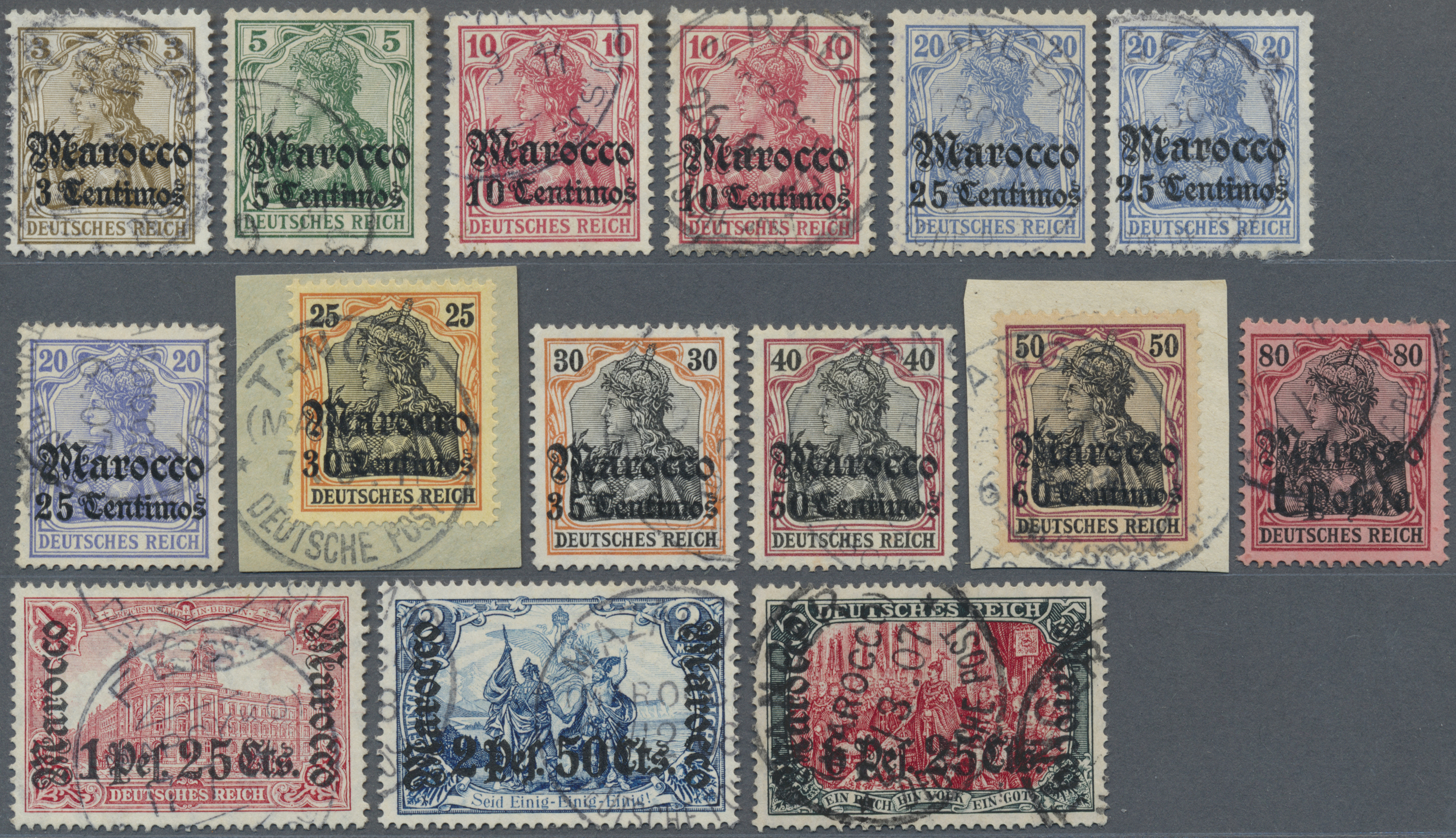 Lot 18478 - deutsche post in marokko  -  Auktionshaus Christoph Gärtner GmbH & Co. KG Auction #40 Germany, Picture Post Cards, Collections Overseas, Thematics
