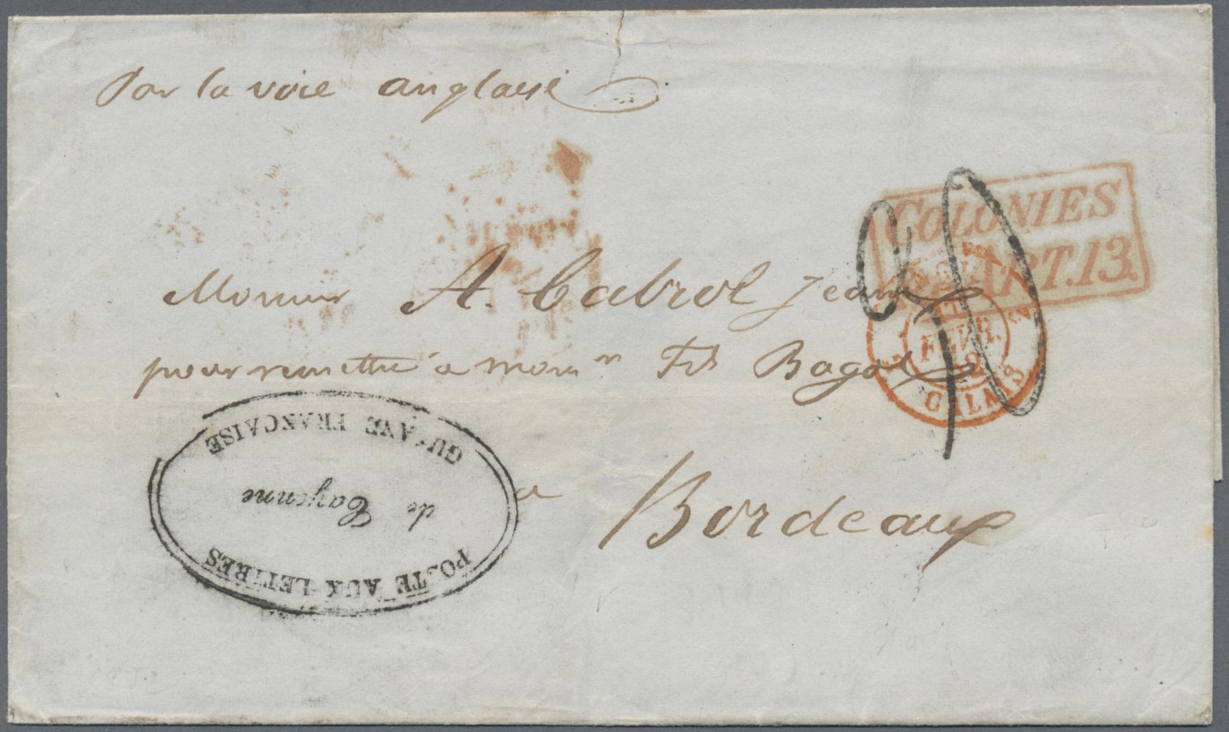 Französisch Guyana Stamp Auctions