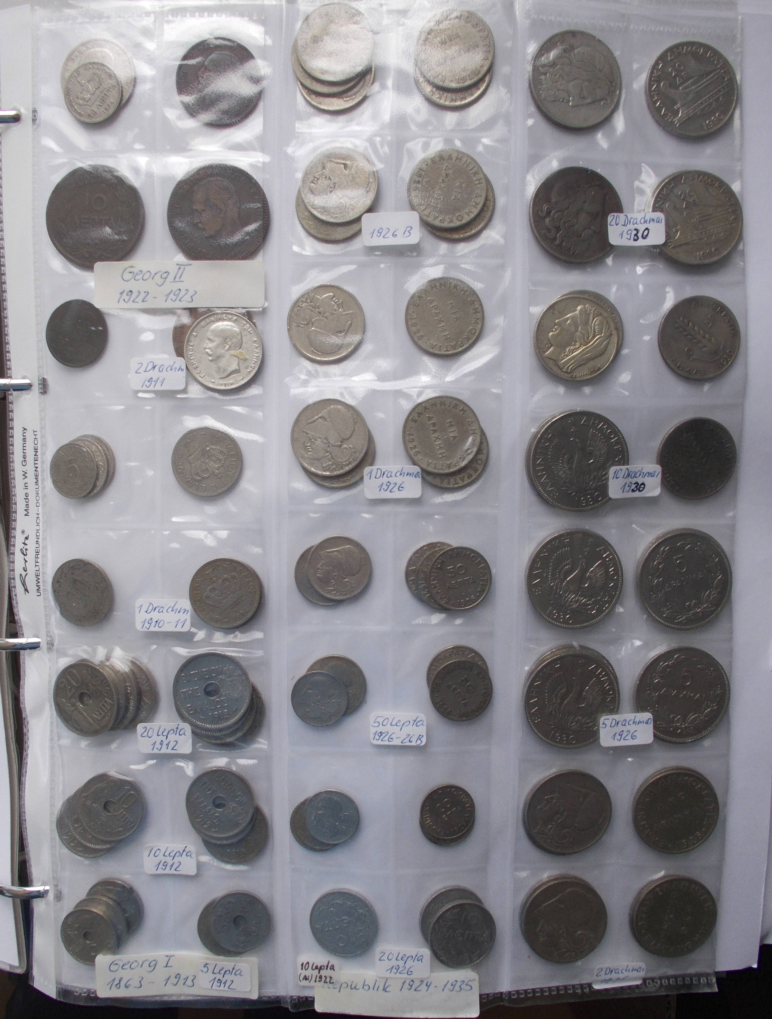 Lot 02633 - Griechenland   Europa  -  Auktionshaus Christoph Gärtner GmbH & Co. KG Sale #48 The Coins & The Picture Post Cards