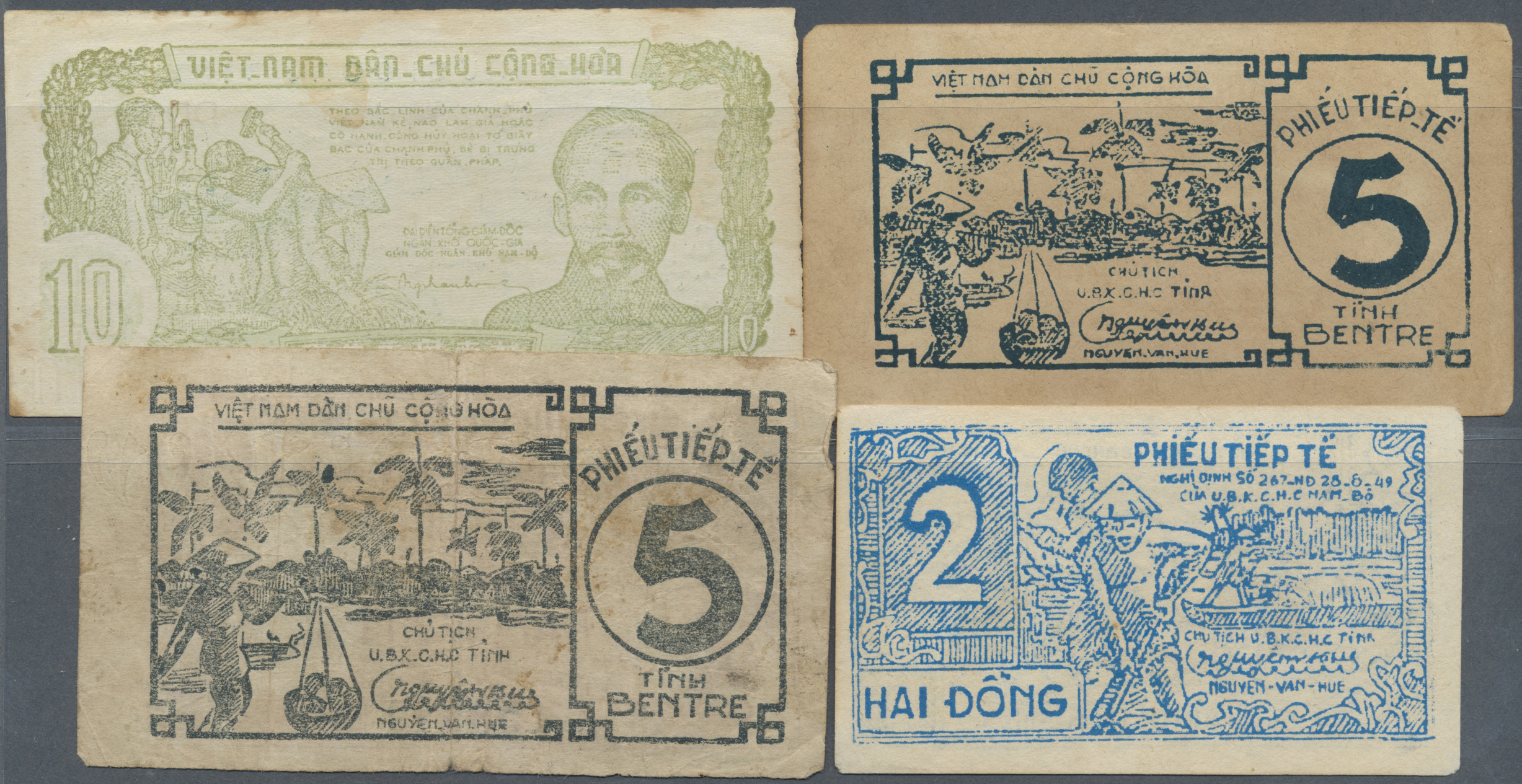 Lot 2253 - Vietnam | Banknoten  -  Auktionshaus Christoph Gärtner GmbH & Co. KG Banknotes & Coins Auction #39 Day 2