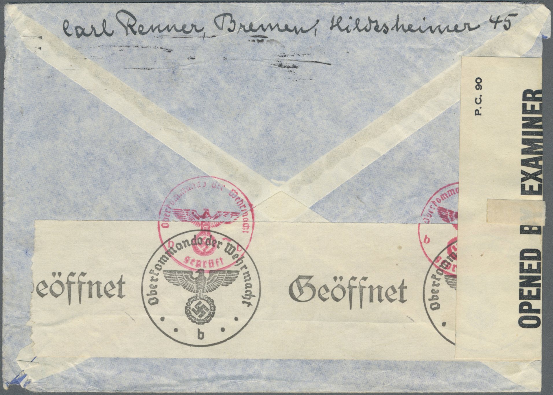 Lot 23688 - kriegsgefangenen-lagerpost  -  Auktionshaus Christoph Gärtner GmbH & Co. KG Single lots Germany + Picture Postcards. Auction #39 Day 5