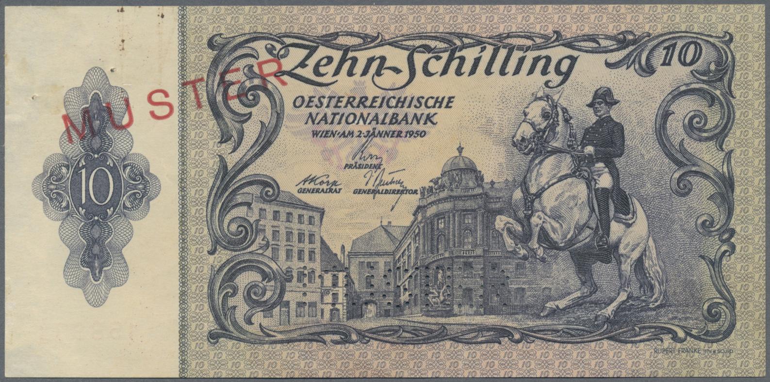Lot 00034 - Austria / Österreich   Banknoten  -  Auktionshaus Christoph Gärtner GmbH & Co. KG Sale #48 The Banknotes