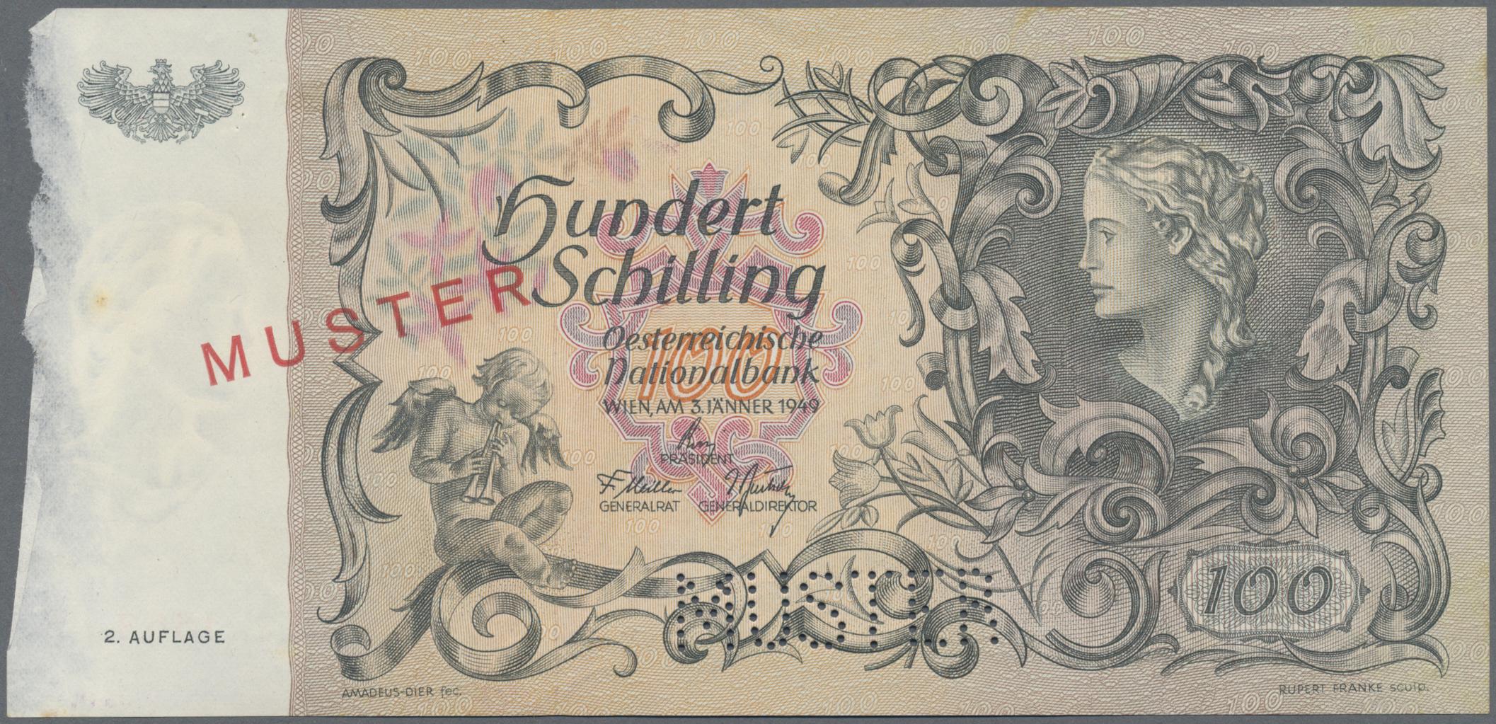 Lot 00037 - Austria / Österreich | Banknoten  -  Auktionshaus Christoph Gärtner GmbH & Co. KG Sale #48 The Banknotes