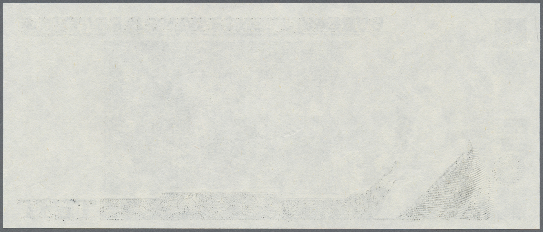 Lot 2310 - Testbanknoten   Banknoten  -  Auktionshaus Christoph Gärtner GmbH & Co. KG Banknotes & Coins Auction #39 Day 2