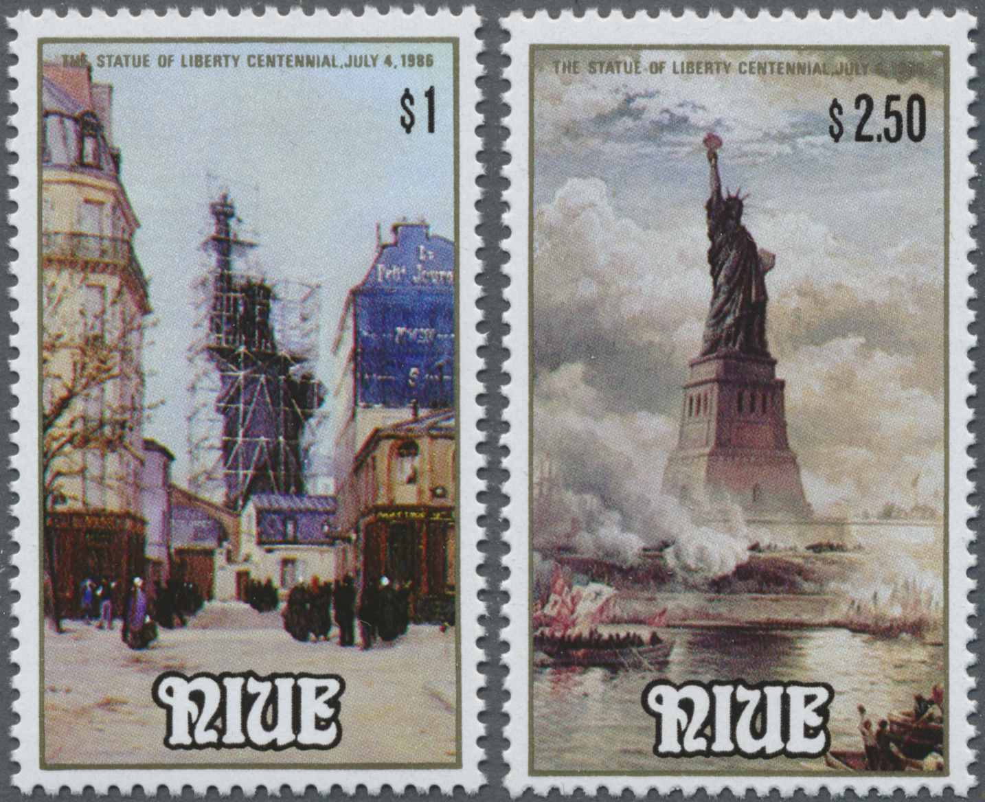 Lot 15904 - Thematik: Sehenswürdigkeiten-Freiheitsstatue / sights- statue of liberty  -  Auktionshaus Christoph Gärtner GmbH & Co. KG Sale #48 collections Overseas  Airmail / Ship mail & Thematics