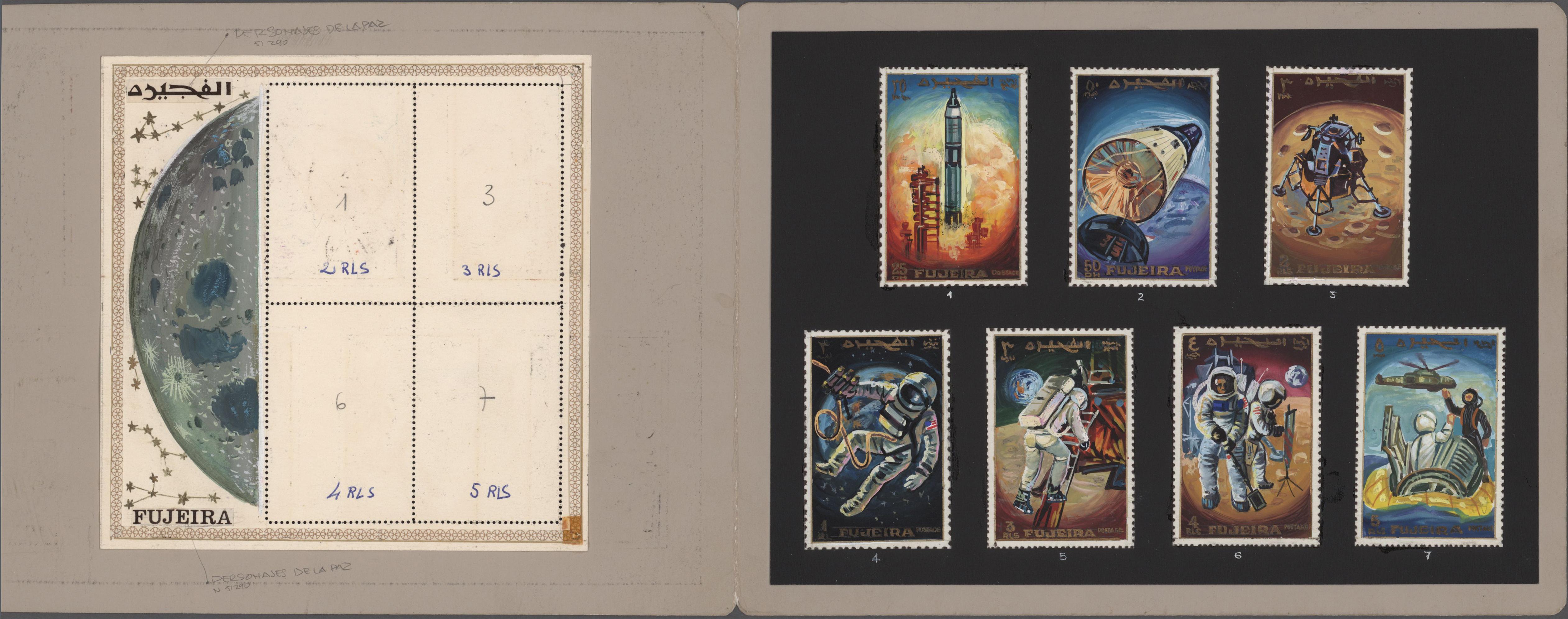 Lot 06487 - thematik: raumfahrt / astronautics  -  Auktionshaus Christoph Gärtner GmbH & Co. KG Sale #48 The Single Lots Philatelie