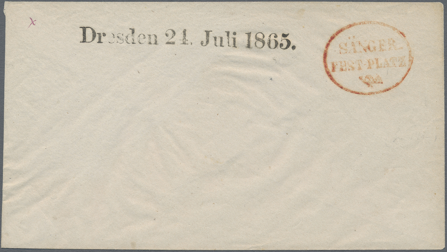 Lot 10526 - Sachsen - Ortsstempel  -  Auktionshaus Christoph Gärtner GmbH & Co. KG Sale #48 The Single Lots Philatelie
