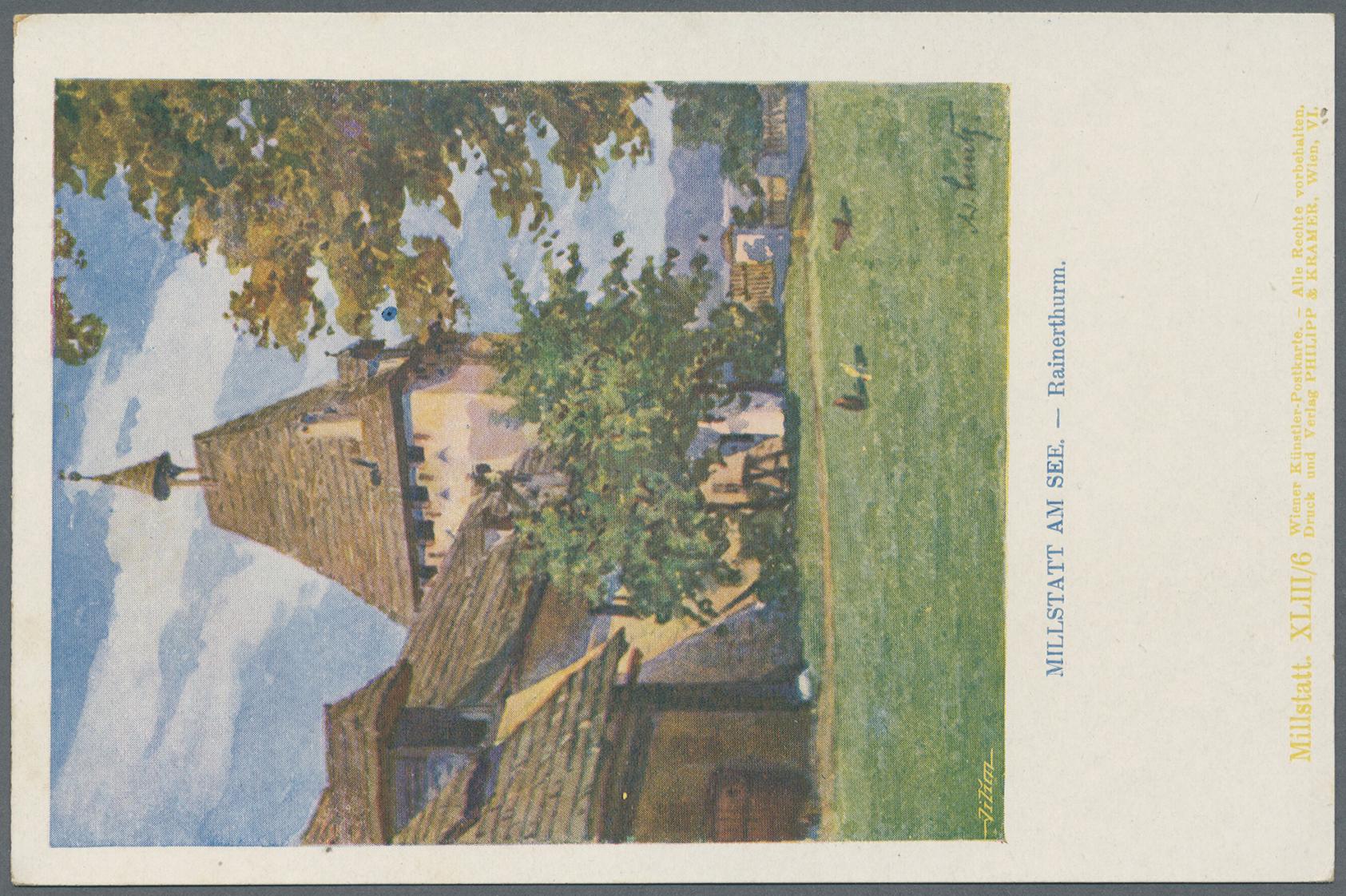 Lot 04134 - Ansichtskarten: Österreich  -  Auktionshaus Christoph Gärtner GmbH & Co. KG Sale #48 The Coins & The Picture Post Cards