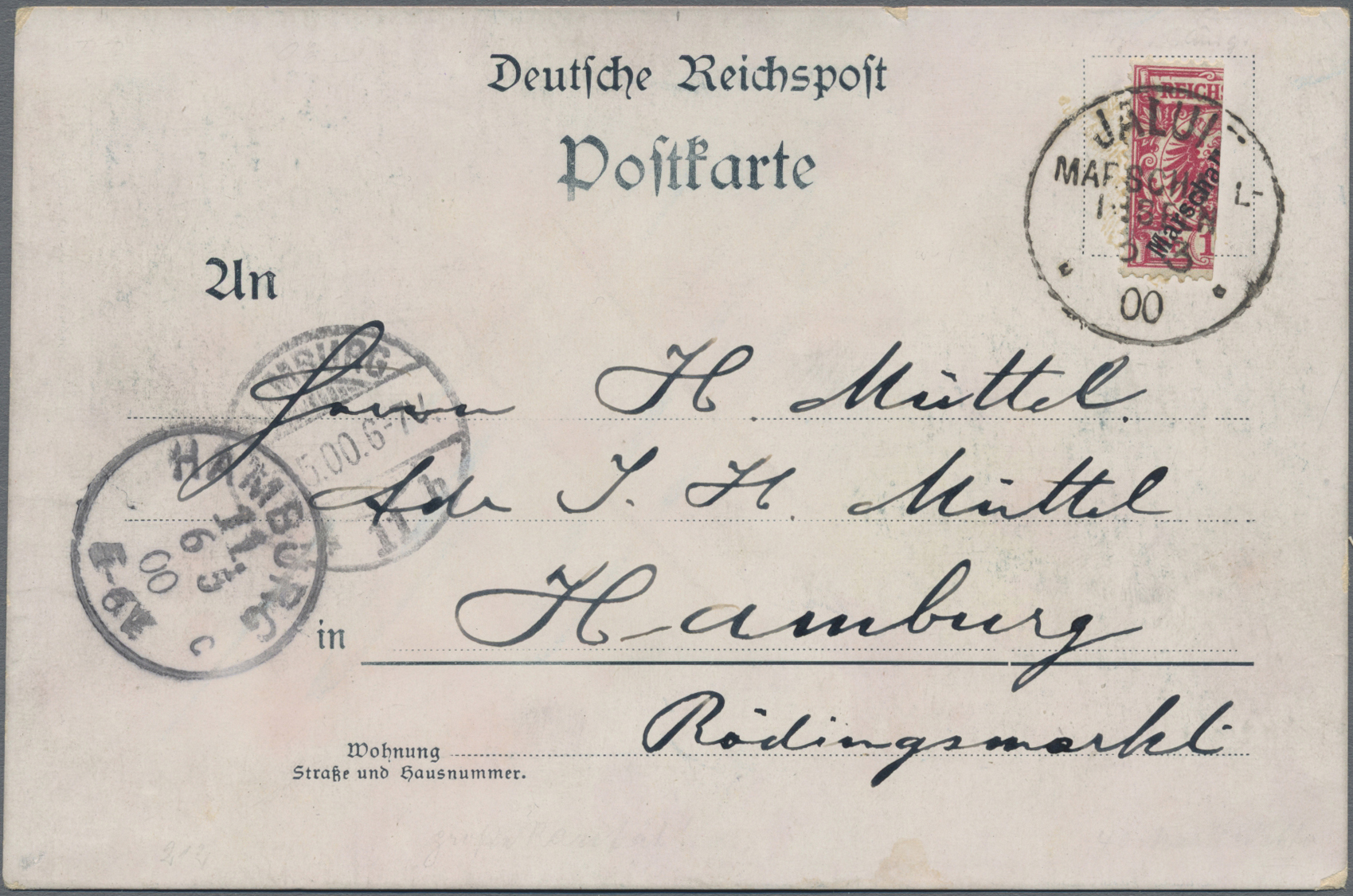 Lot 22829 - Deutsche Kolonien - Marshall-Inseln  -  Auktionshaus Christoph Gärtner GmbH & Co. KG Sale #44 Germany, Picture Post cards