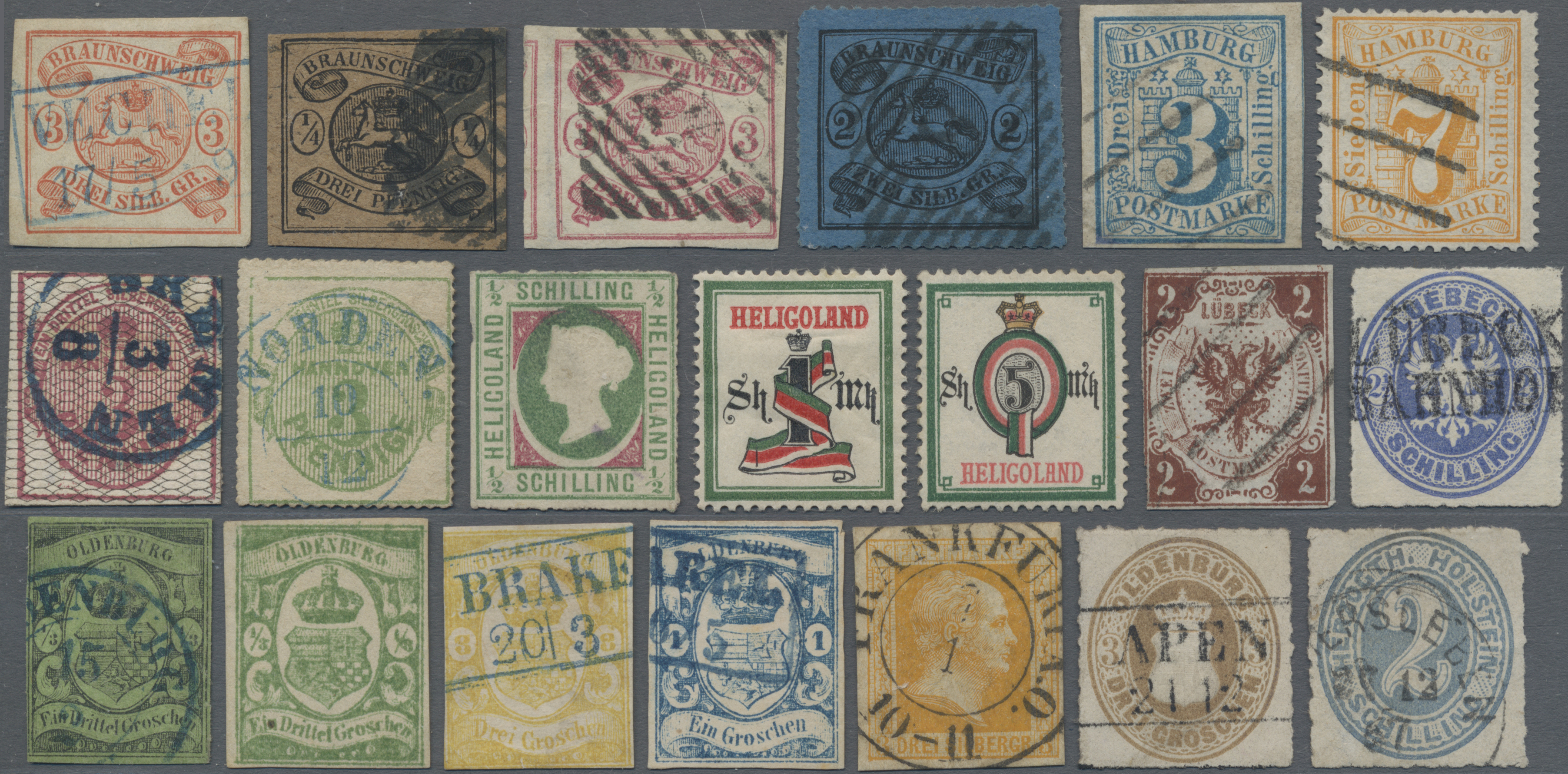 Lot 28107 - altdeutschland  -  Auktionshaus Christoph Gärtner GmbH & Co. KG Sale #46 Gollcetions Germany - including the suplement