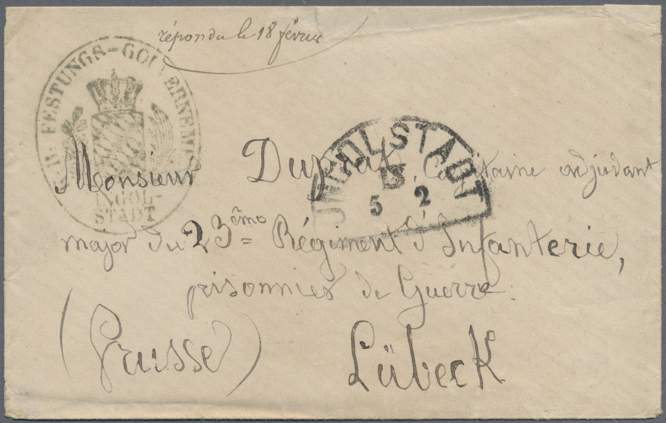 Lot 37172 - kriegsgefangenen-lagerpost  -  Auktionshaus Christoph Gärtner GmbH & Co. KG Sale #44 Collections Germany